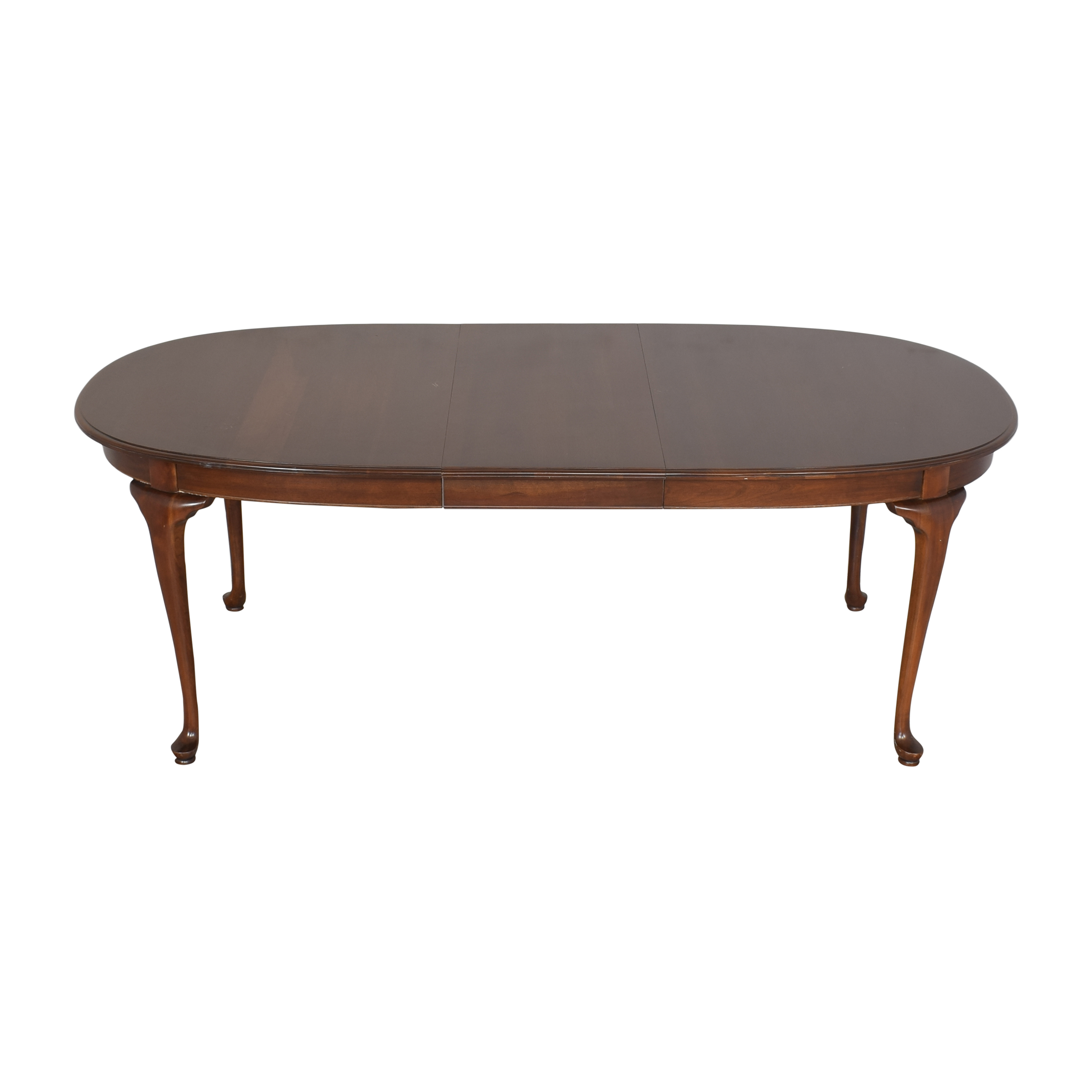 Ethan Allen Ethan Allen Extendable Oval Dining Table used
