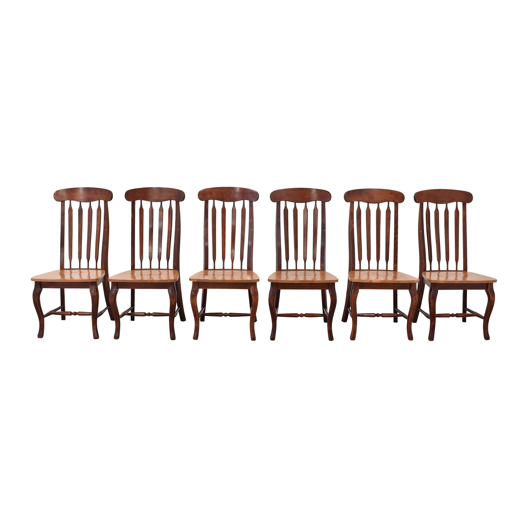 Canadel Canadel Slat Back Dining Chairs used
