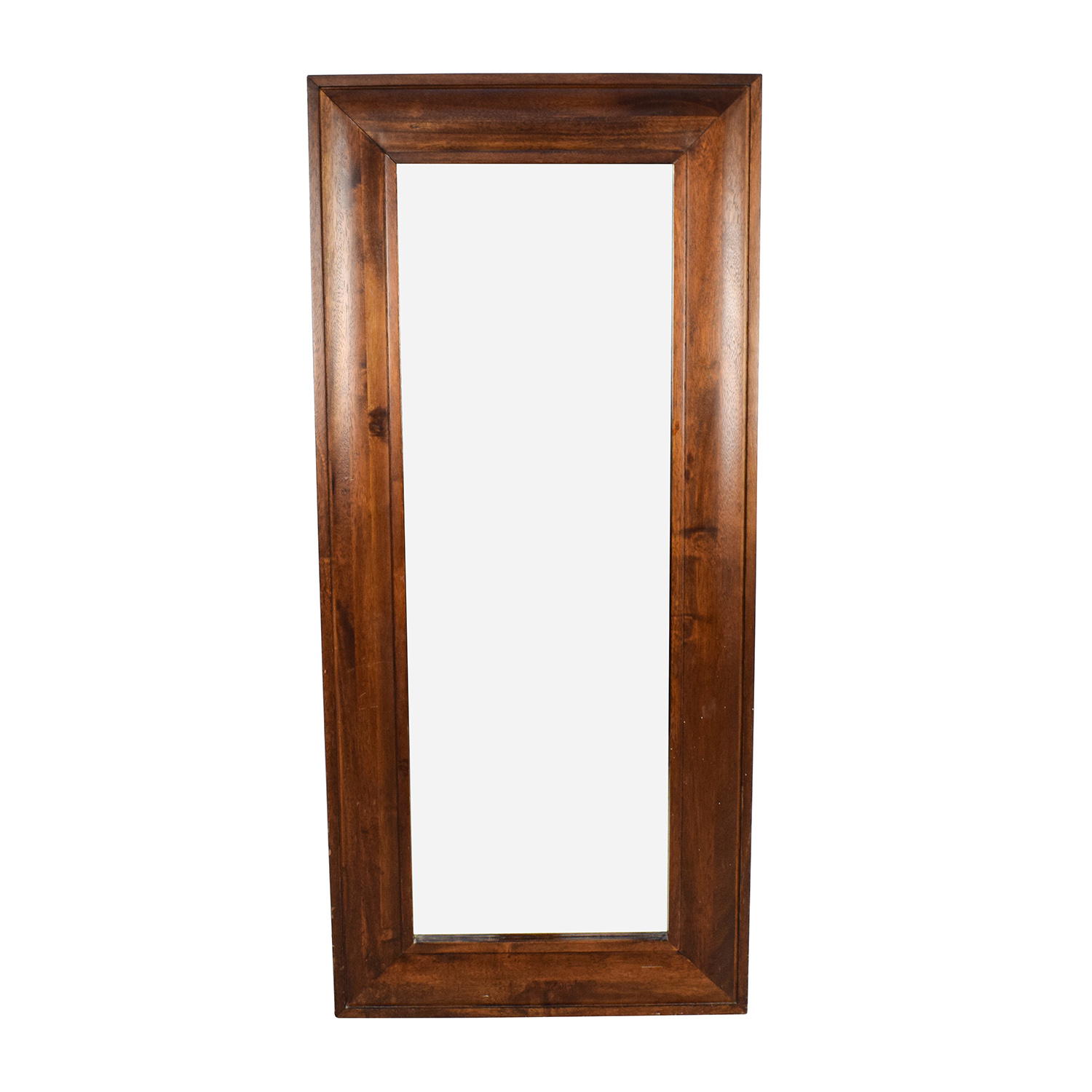 Large Wood Framed Standing Mirror dimensions