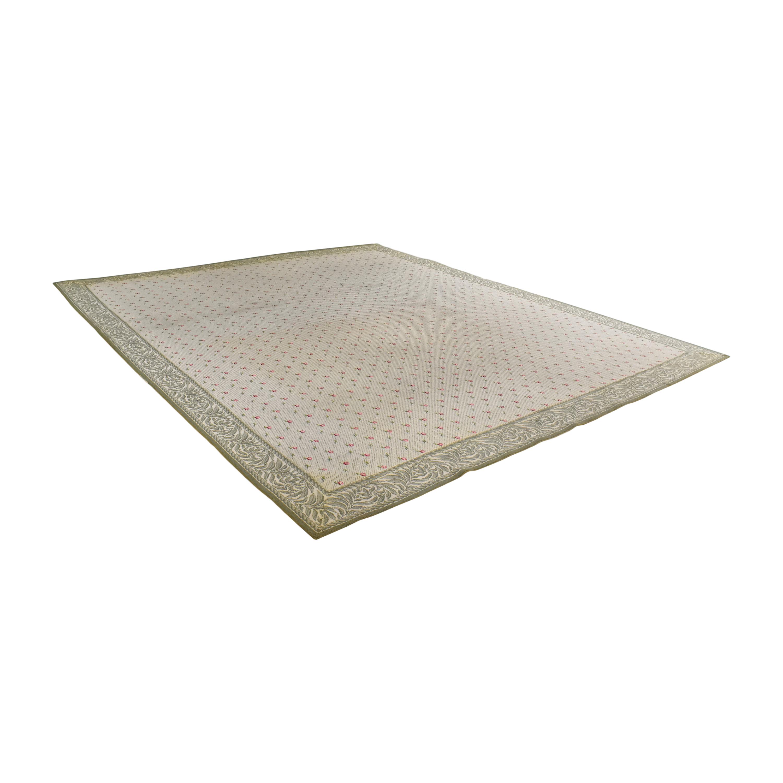 ABC Carpet & Home ABC Carpet & Home Floral Patterned Rug Decor