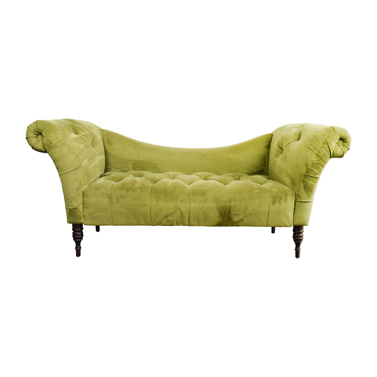 shop Urban Outfitters Antoinette Tufted Fainting  Sofa Urban Outfitters