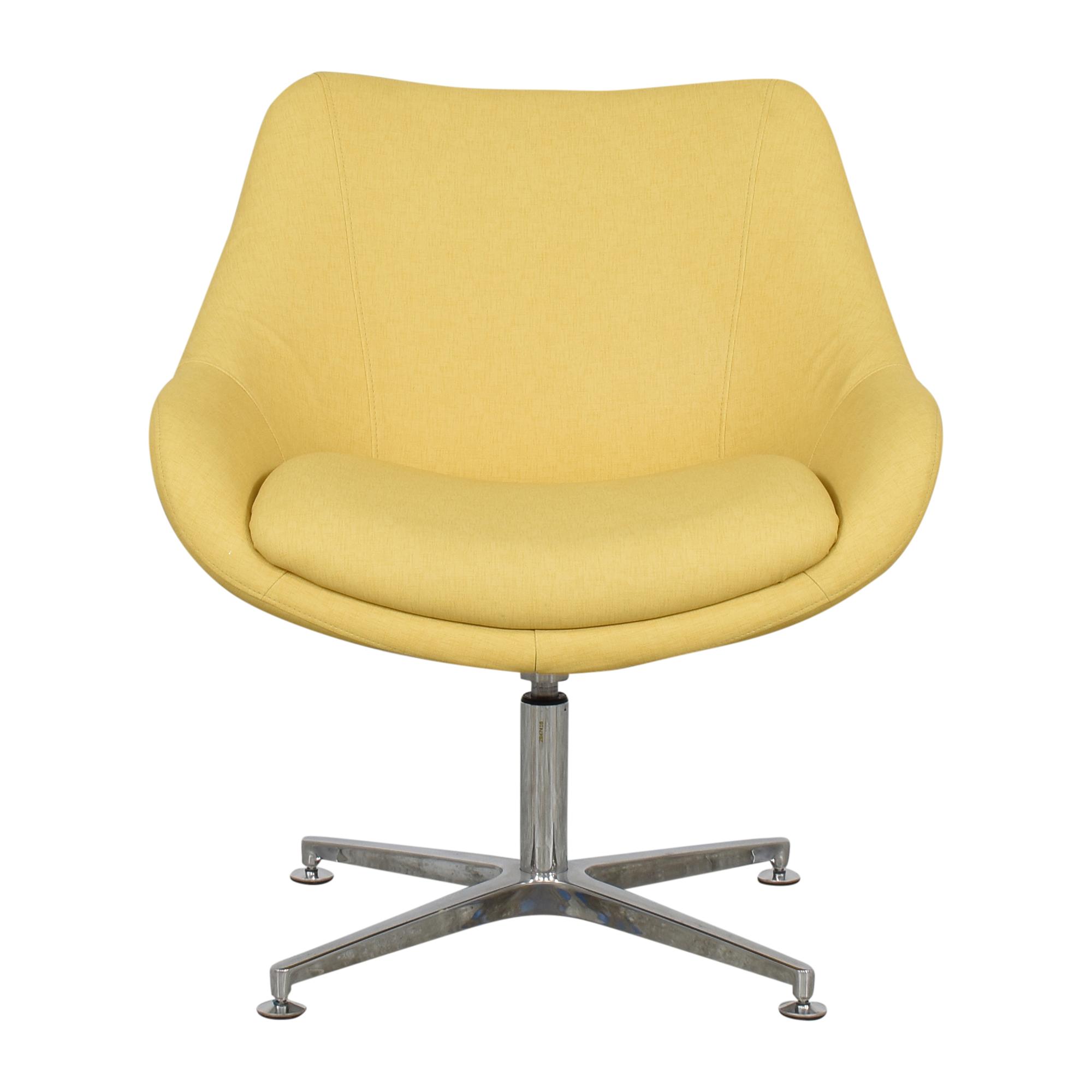 Kimball Kimball Bloom Swivel Lounge Chair ct
