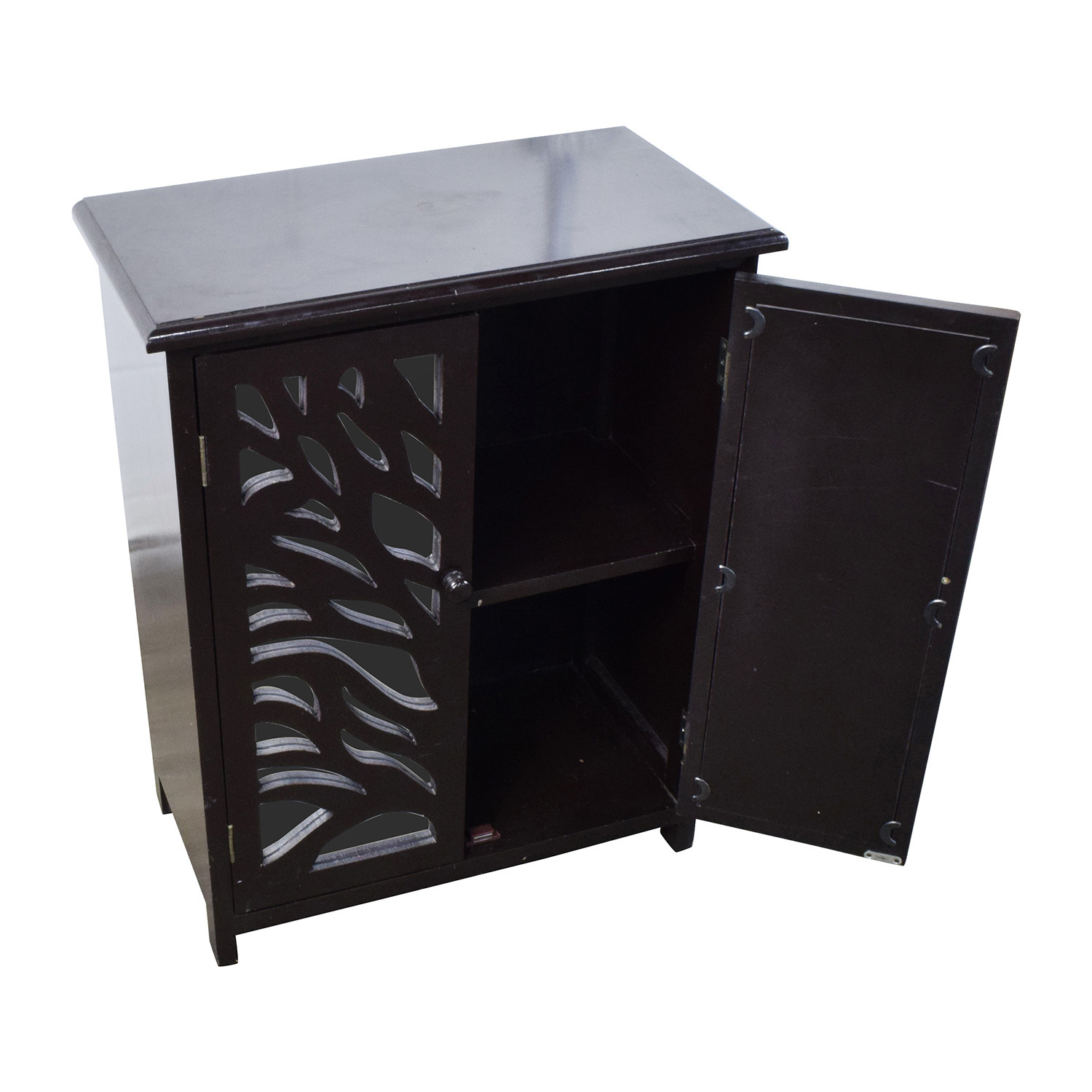 black mirrored cabinet 82 small black wood and mirrored chest storage 12419