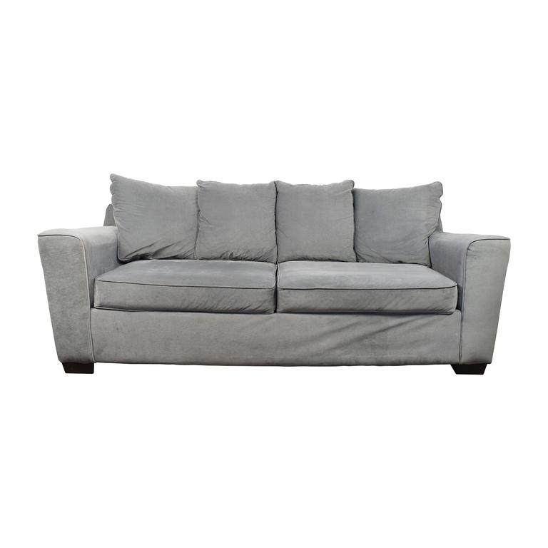 buy Jennifer Convertibles Gray Sofa Jennifer Convertibles