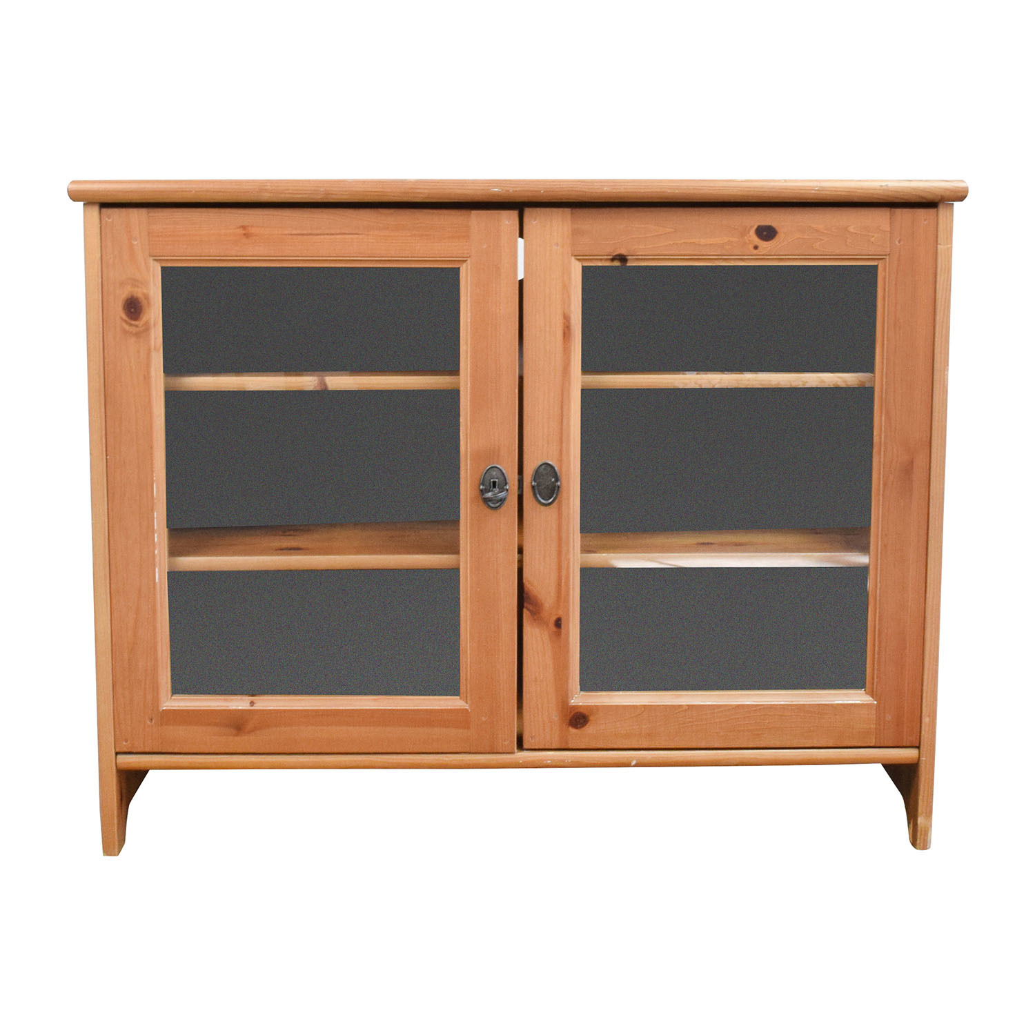 74 Off Ikea Ikea Leksvik Tv Cabinet Storage