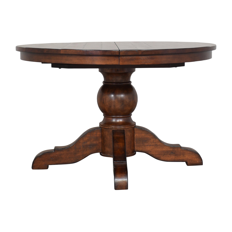 buy Pottery Barn Pottery Barn Sumner Extending Pedestal Dining Table online