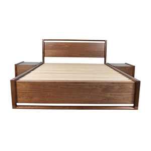 Design Within Reach Design Within Reach Queen Bed Frame with End Tables
