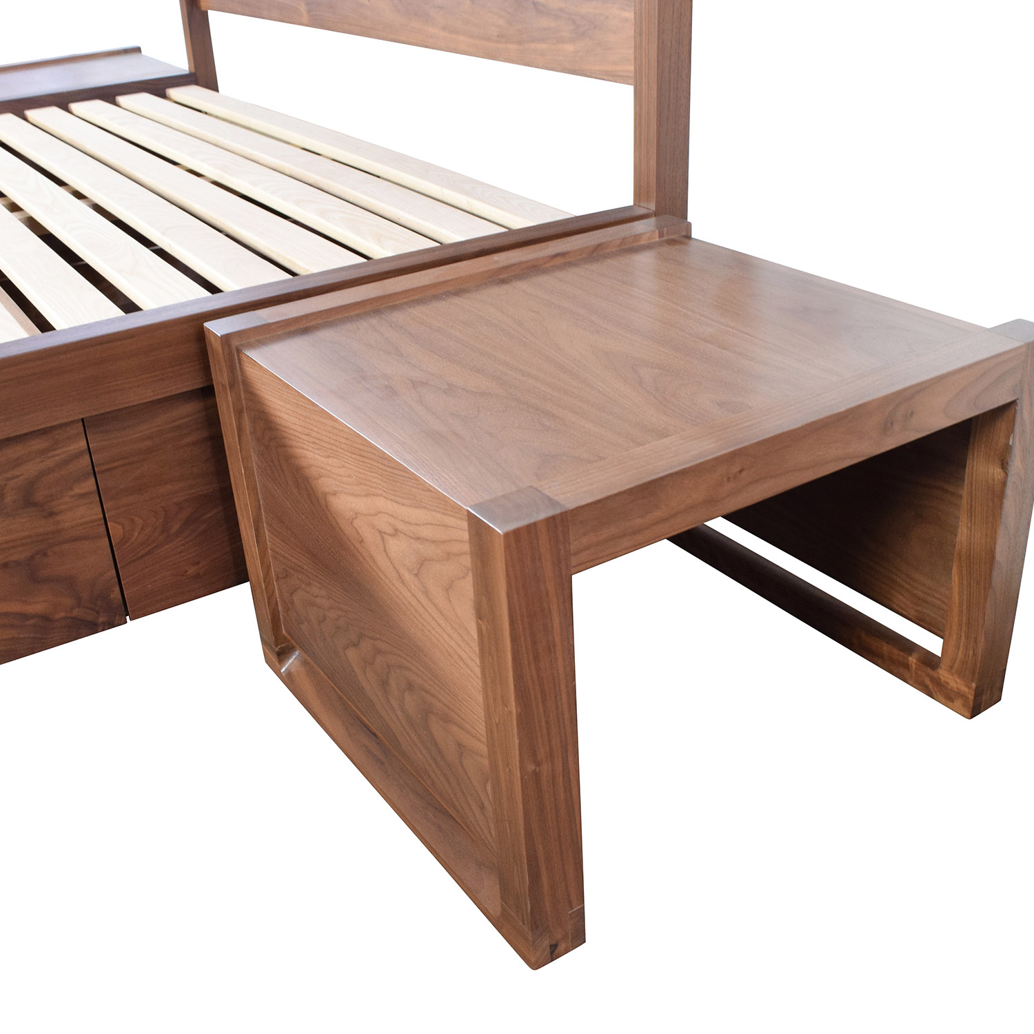 ... Design Within Reach Design Within Reach Queen Bed Frame With End Tables  Discount ...