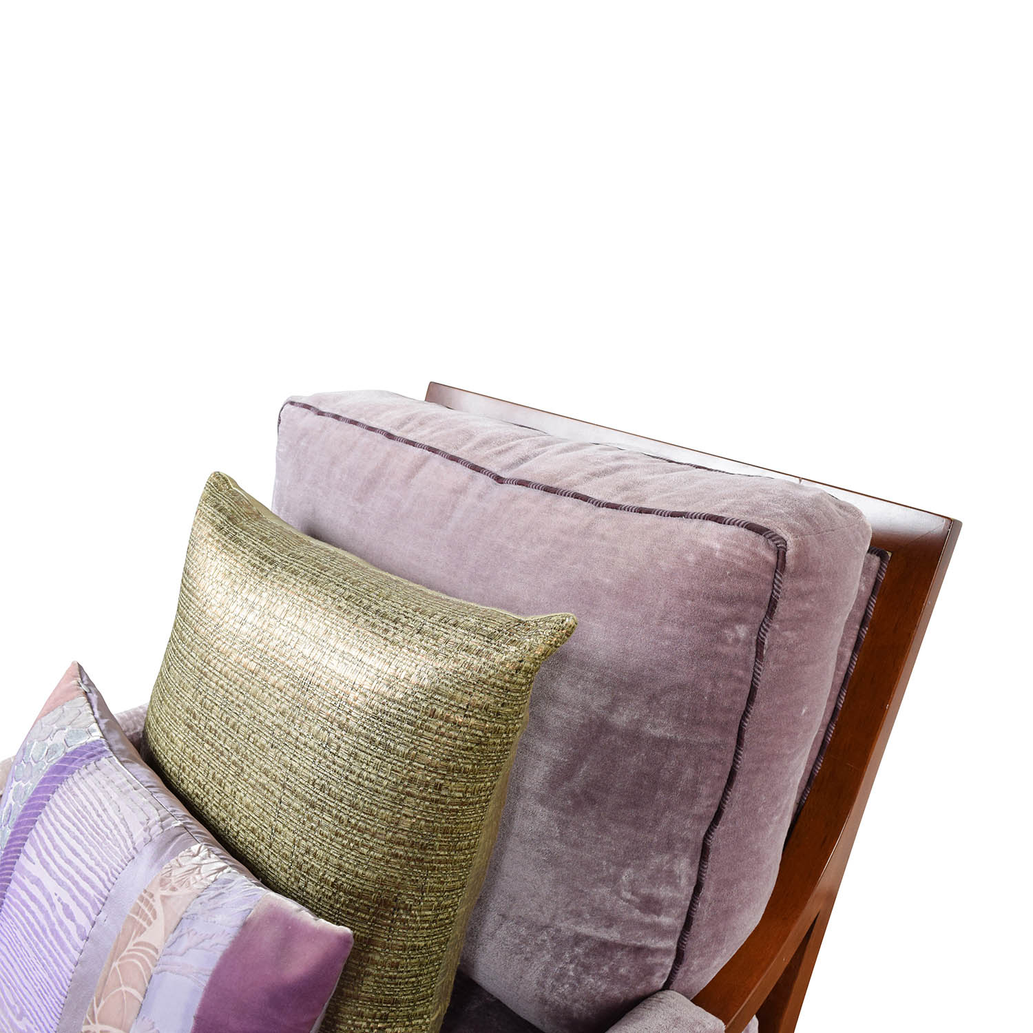 purple velvet accent arm chair accent chairs