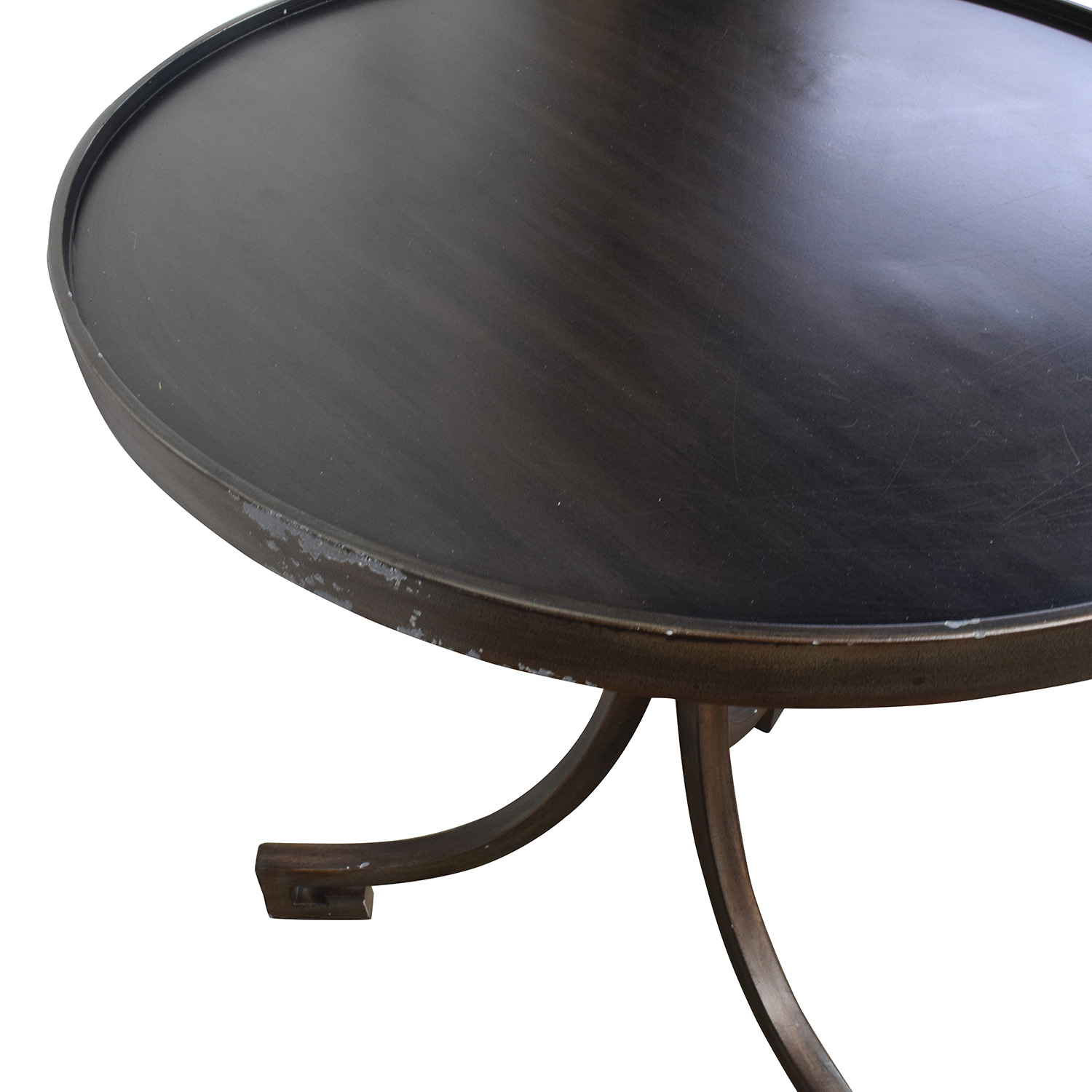 90 off round metal side table tables for Buy round table