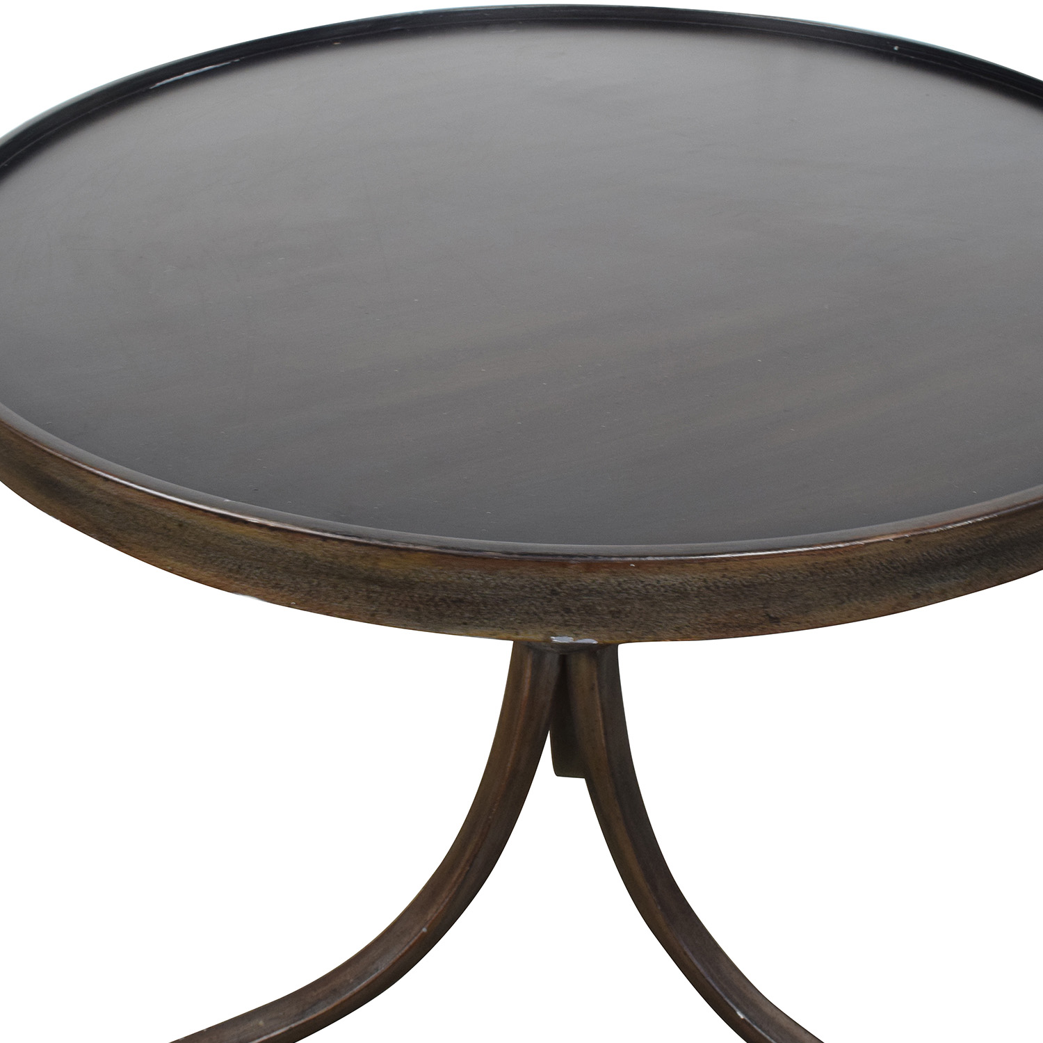 90 Off Round Metal Side Table Tables