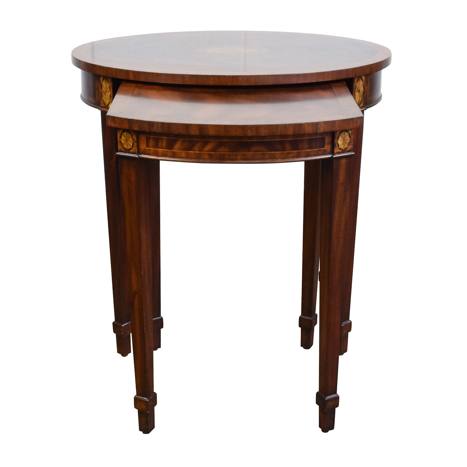 shop Antique Reproduction Wood Nesting Side Tables Tables