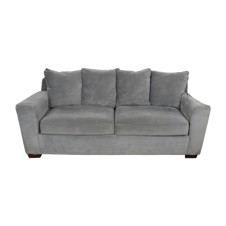 Charmant ... Jennifer Convertibles Jennifer Convertibles Grey Couch On Sale ...