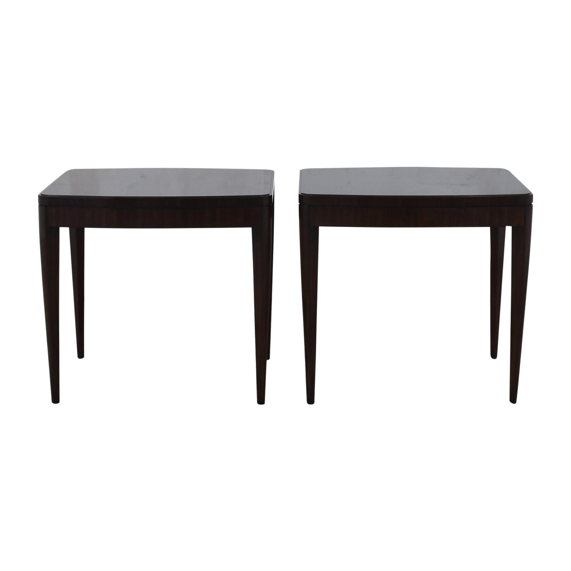 Henredon Furniture Henredon Furniture Contemporary End Tables ma