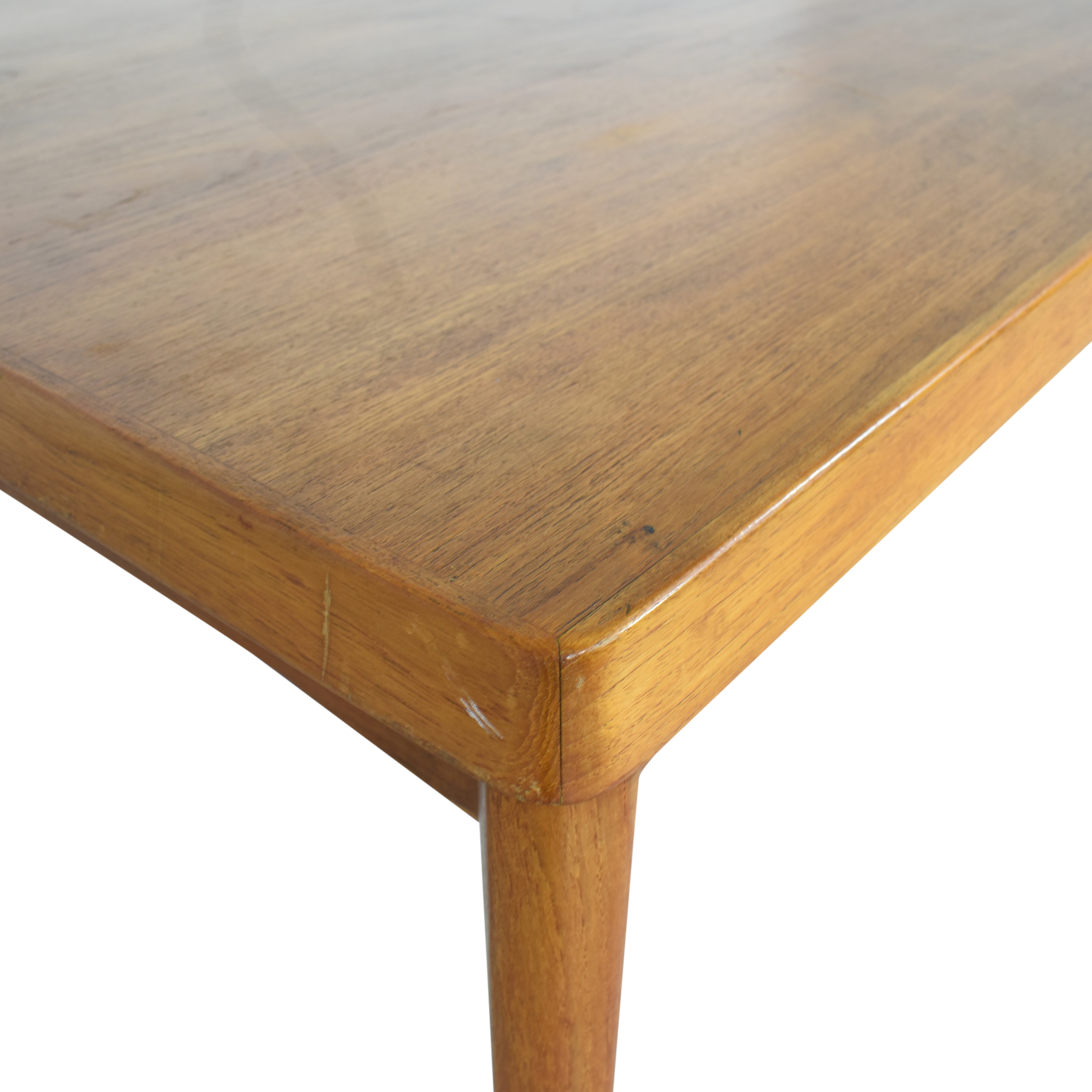 Danish-Style Modern Extending Dining Table dimensions