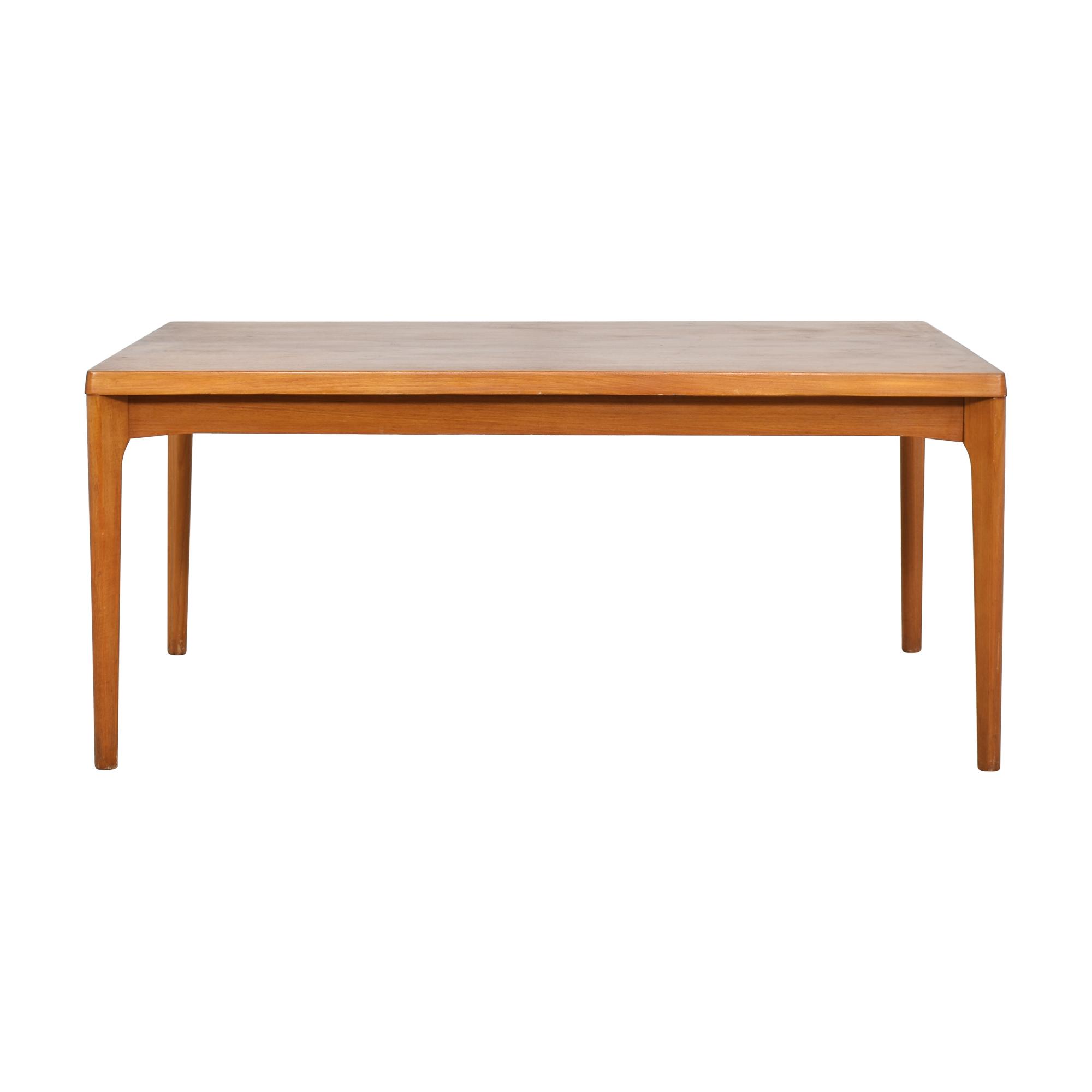 Danish-Style Modern Extending Dining Table