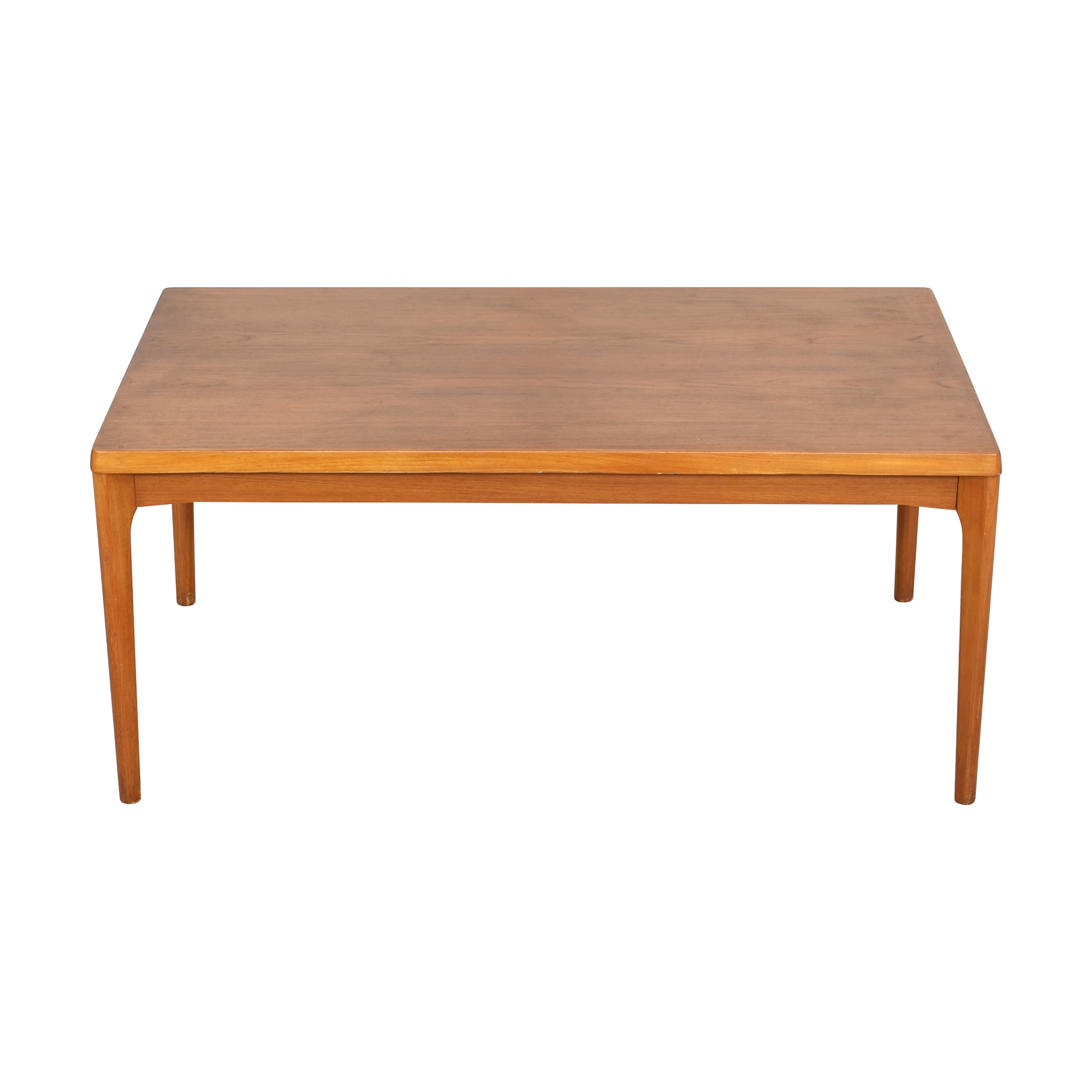 Danish-Style Modern Extending Dining Table Brown