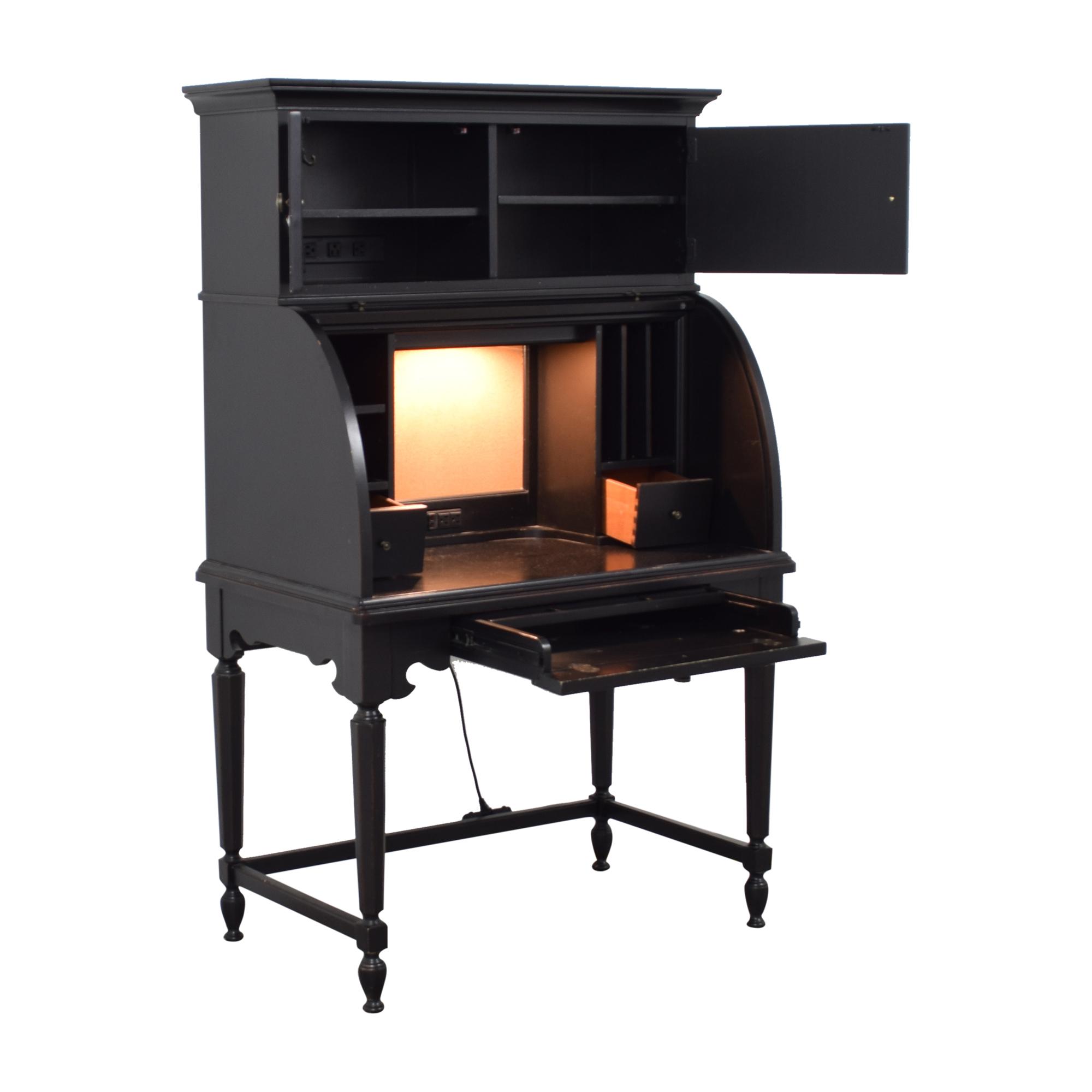 Suburban Furniture Suburban Furniture Roll Top Desk with Hutch  price