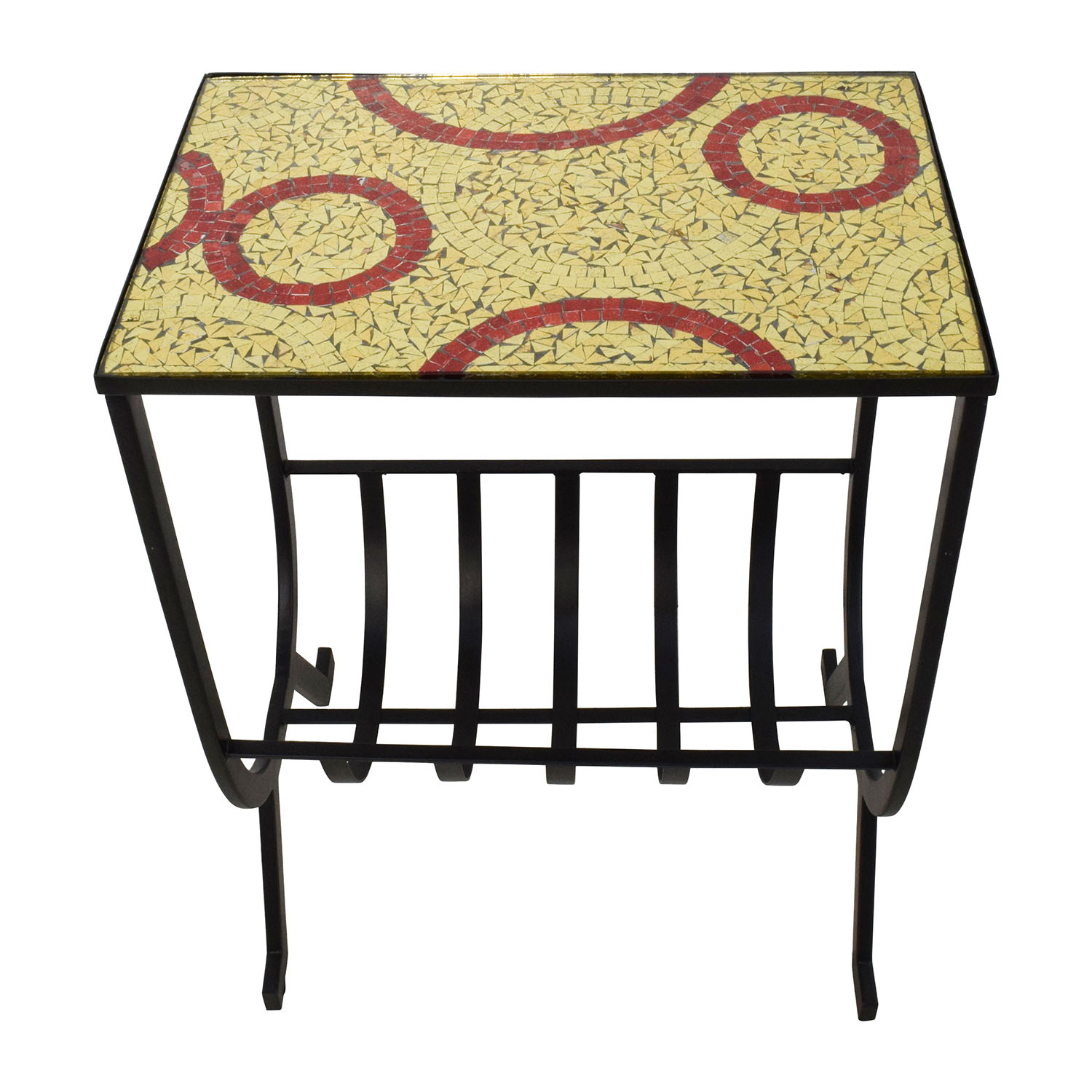 Mosaic Magazine Accent Table Sale; Pier 1 Mosaic Magazine Accent Table  Discount ...