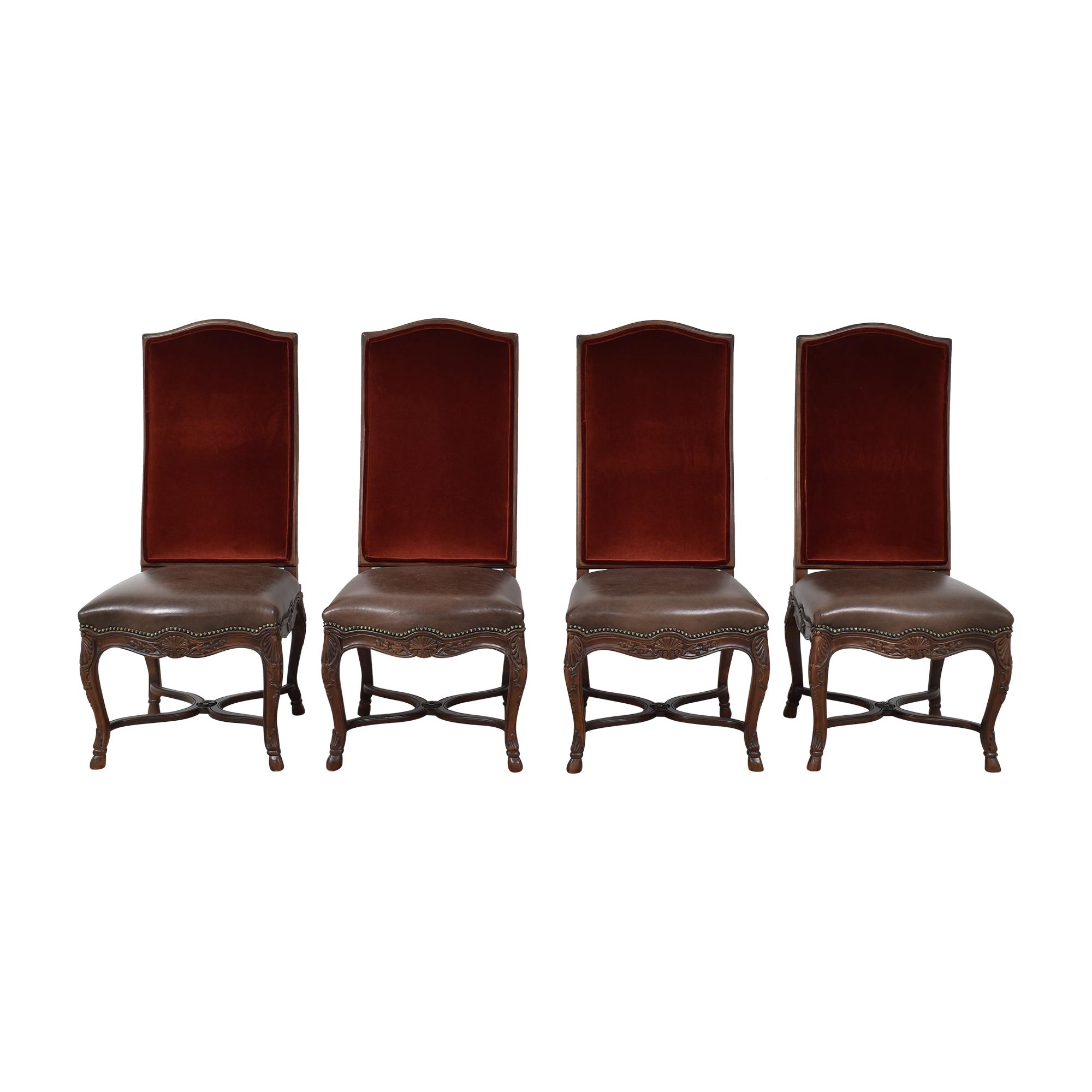 Safavieh Safavieh High Back Formal Dining Chairs used