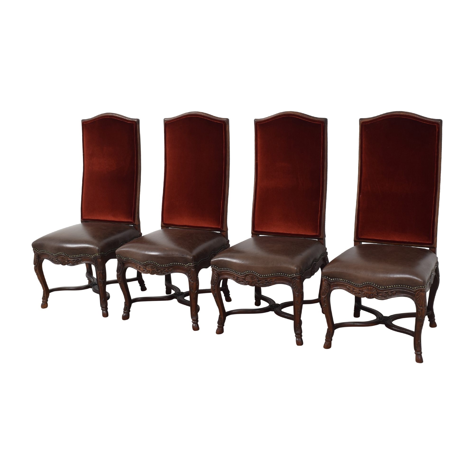 shop Safavieh High Back Formal Dining Chairs Safavieh Dining Chairs