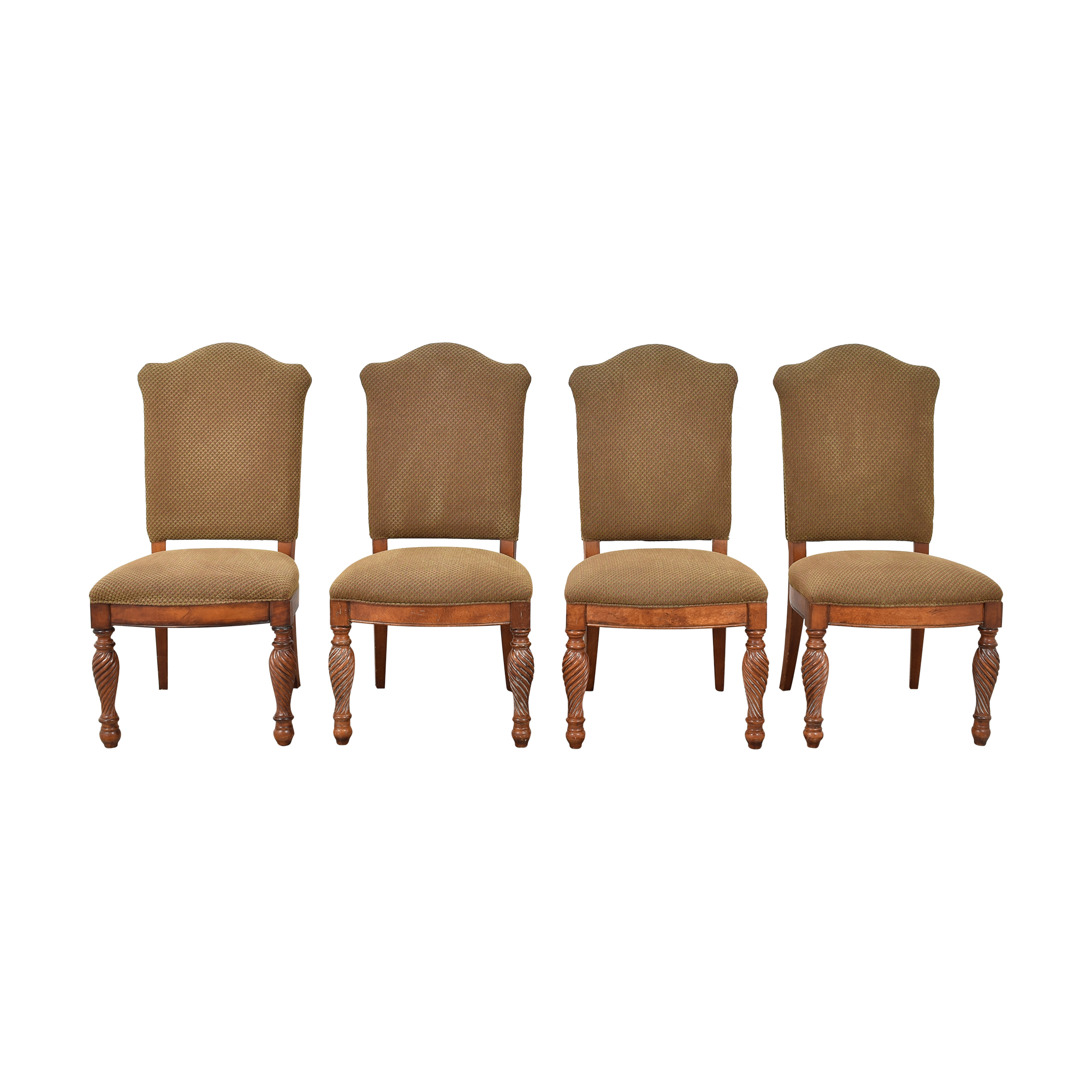 Hickory White Legends Upholstered Dining Side Chairs Hickory White
