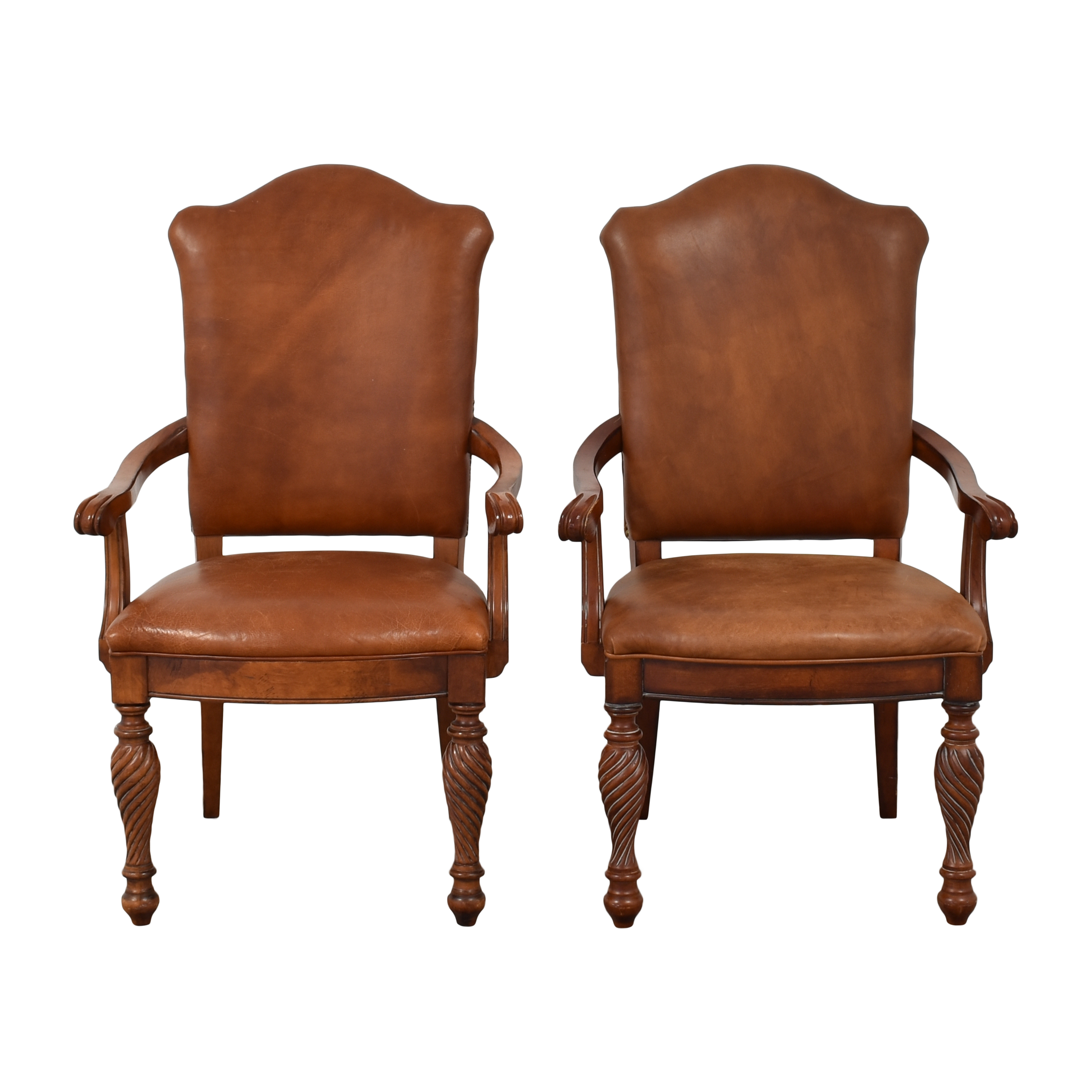 Hickory White Legends Dining Arm Chairs  Hickory White