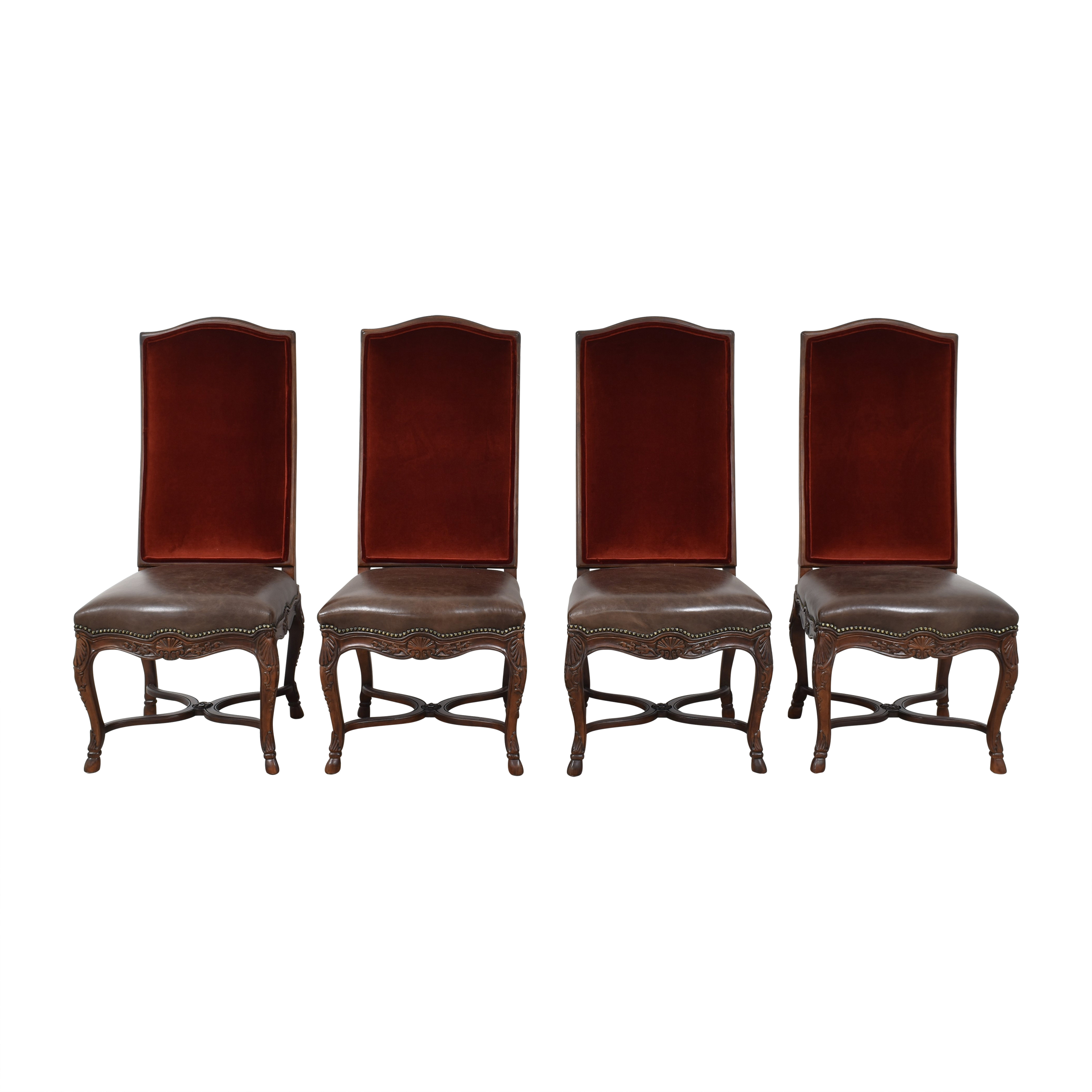 Safavieh Safavieh Hooved French Side Chairs  Chairs