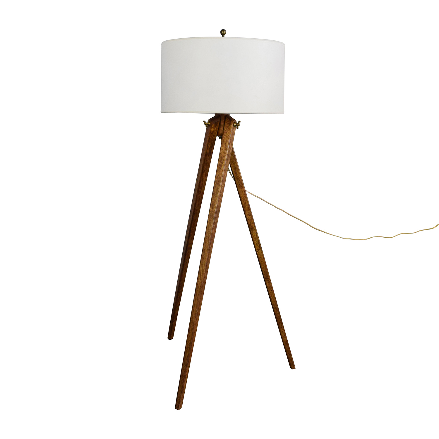 white ideas navy wooden wood amazing lamp agreeable design brilliant natural floor tripod