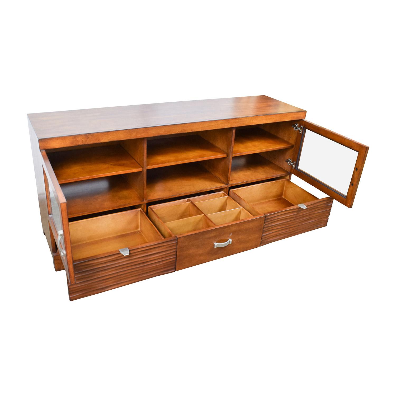 Captivating ... Buy Bobu0027s Furniture Wood TV Stand With Storage Bobu0027s Furniture ...