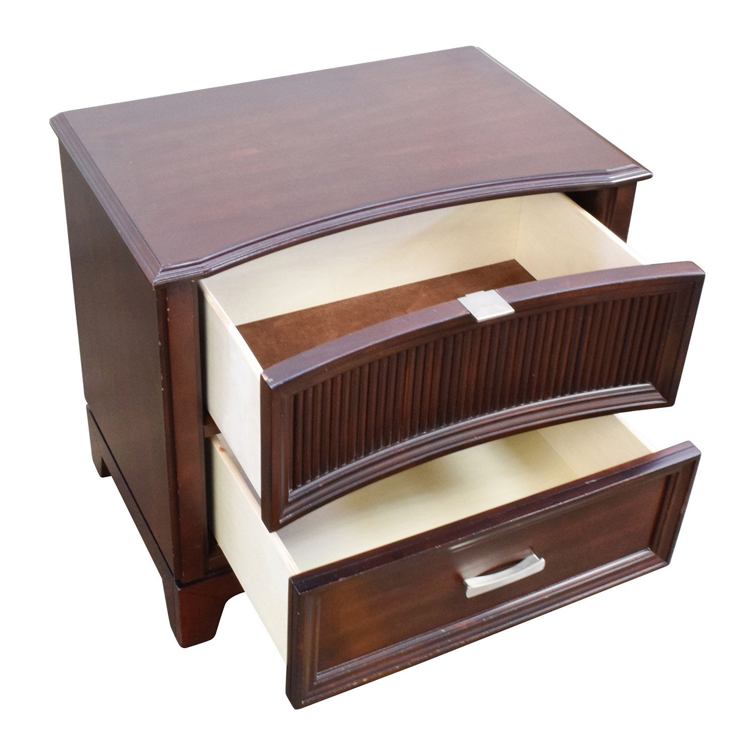 79 off bob 39 s furniture bob 39 s furniture dark brown wood for Dark wood furniture
