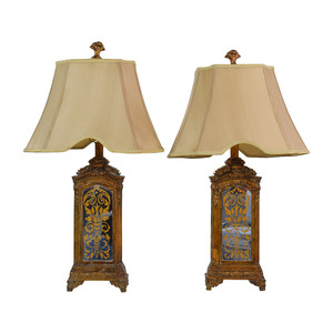 Horchow Horchow Hand Painted Table Lamps nyc