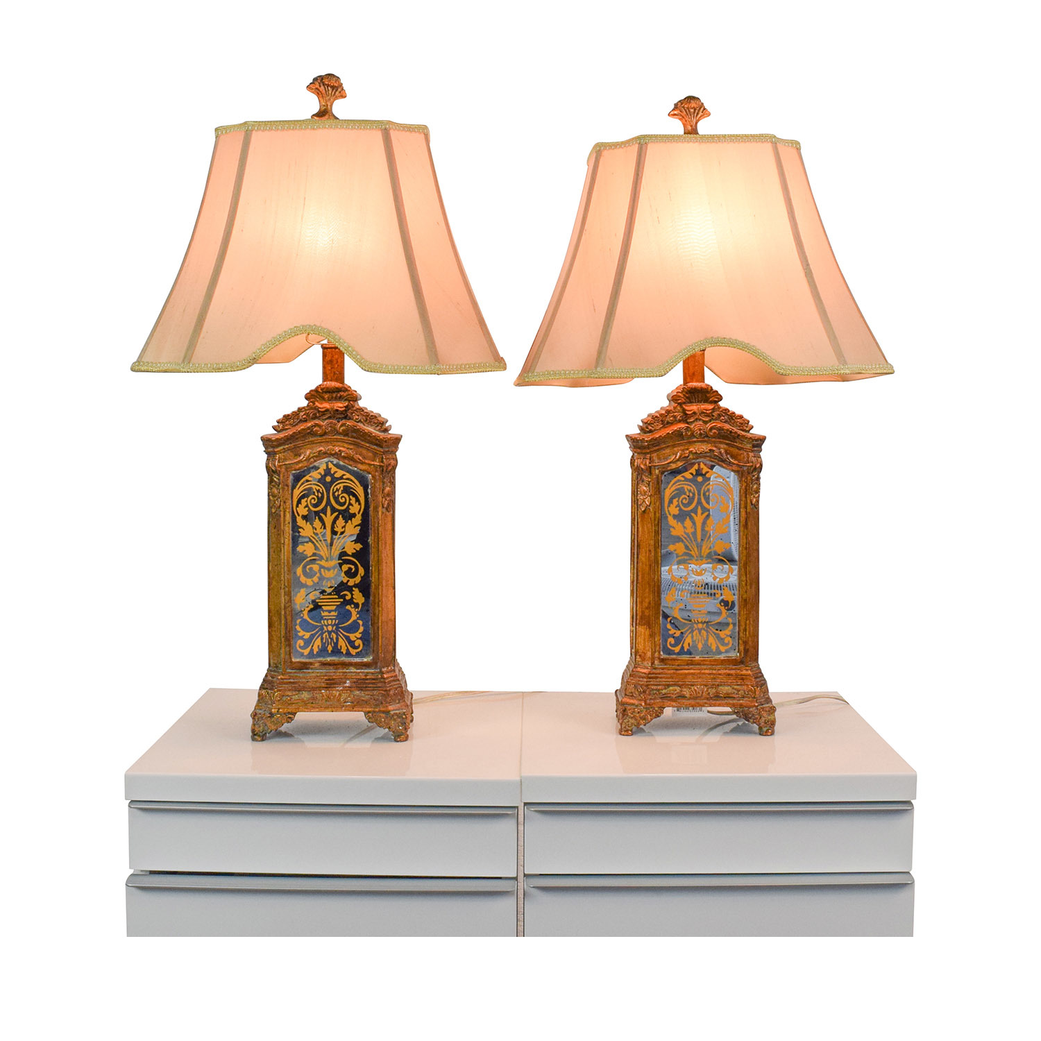 Horchow Horchow Hand Painted Table Lamps used