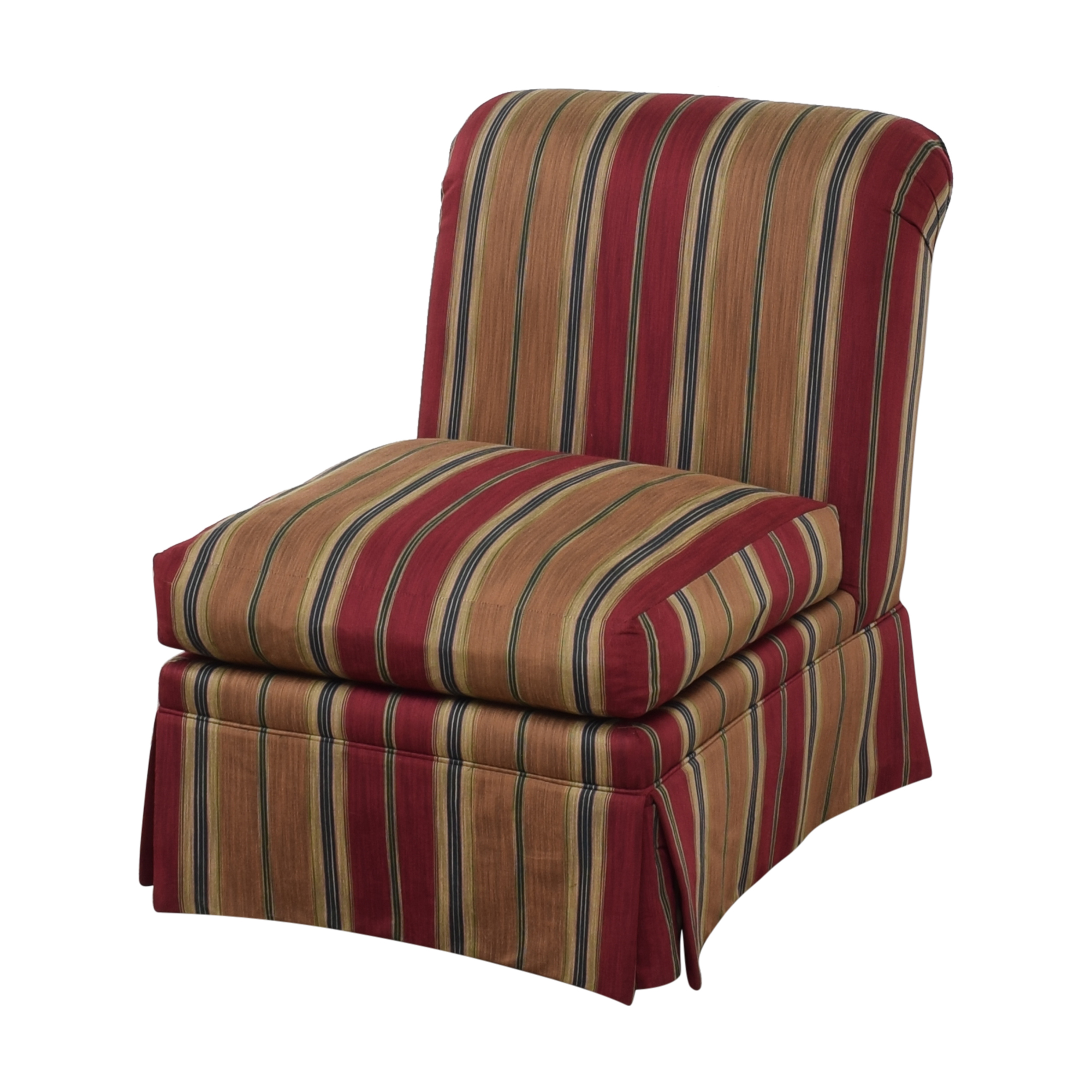 J. Royale Furniture Upholstered Armless Chair / Dining Chairs