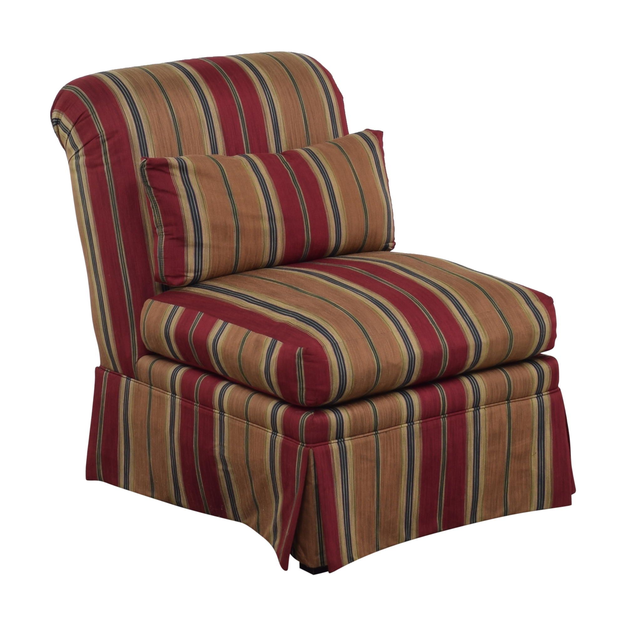 J. Royale Furniture J. Royale Furniture Upholstered Armless Chair nyc