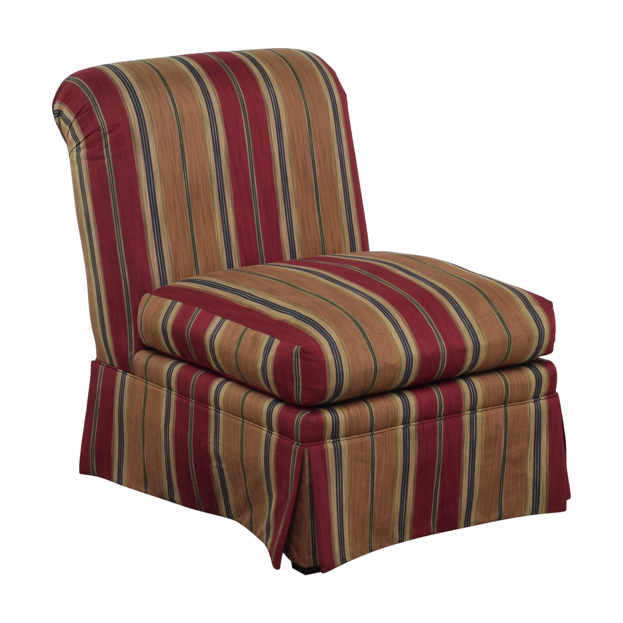 J. Royale Furniture J. Royale Furniture Upholstered Armless Chair second hand