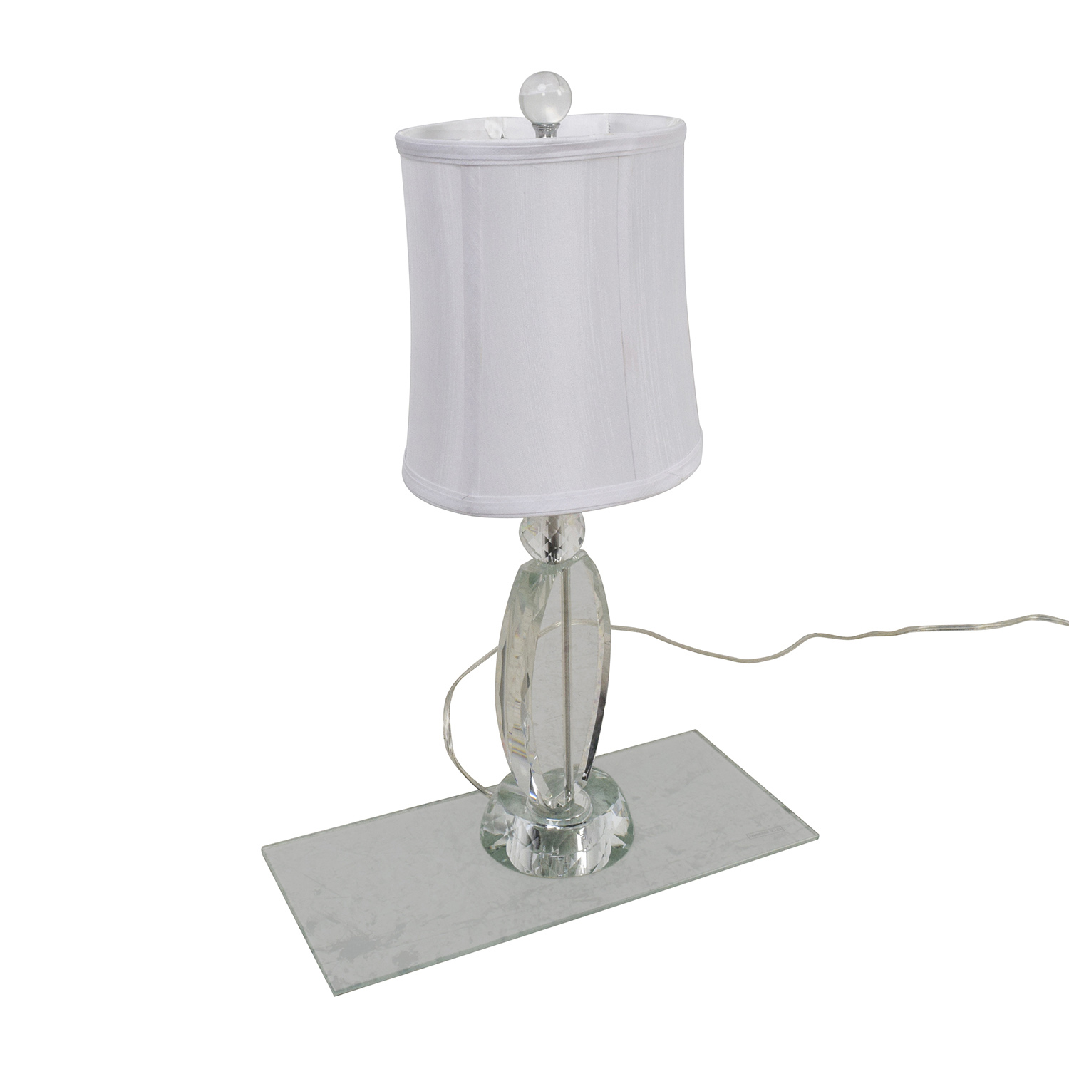 buy Crystal Lamp With White Shade online