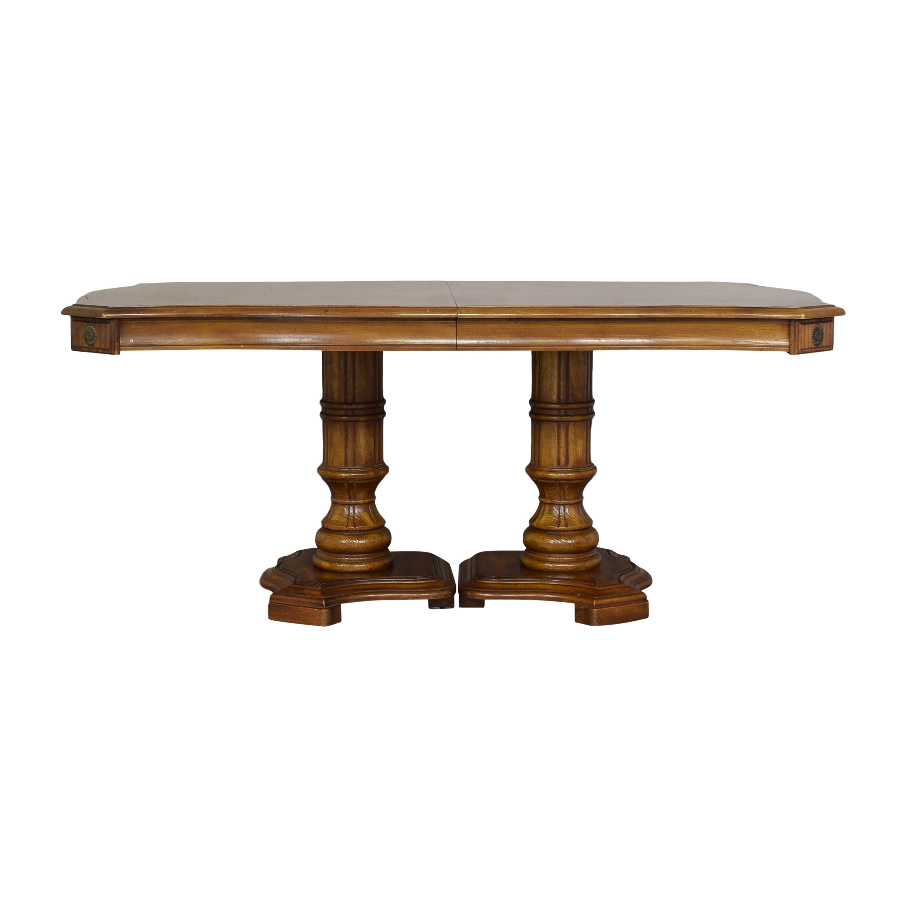 Stanley Furniture Stanley Double Pedestal Dining Table pa