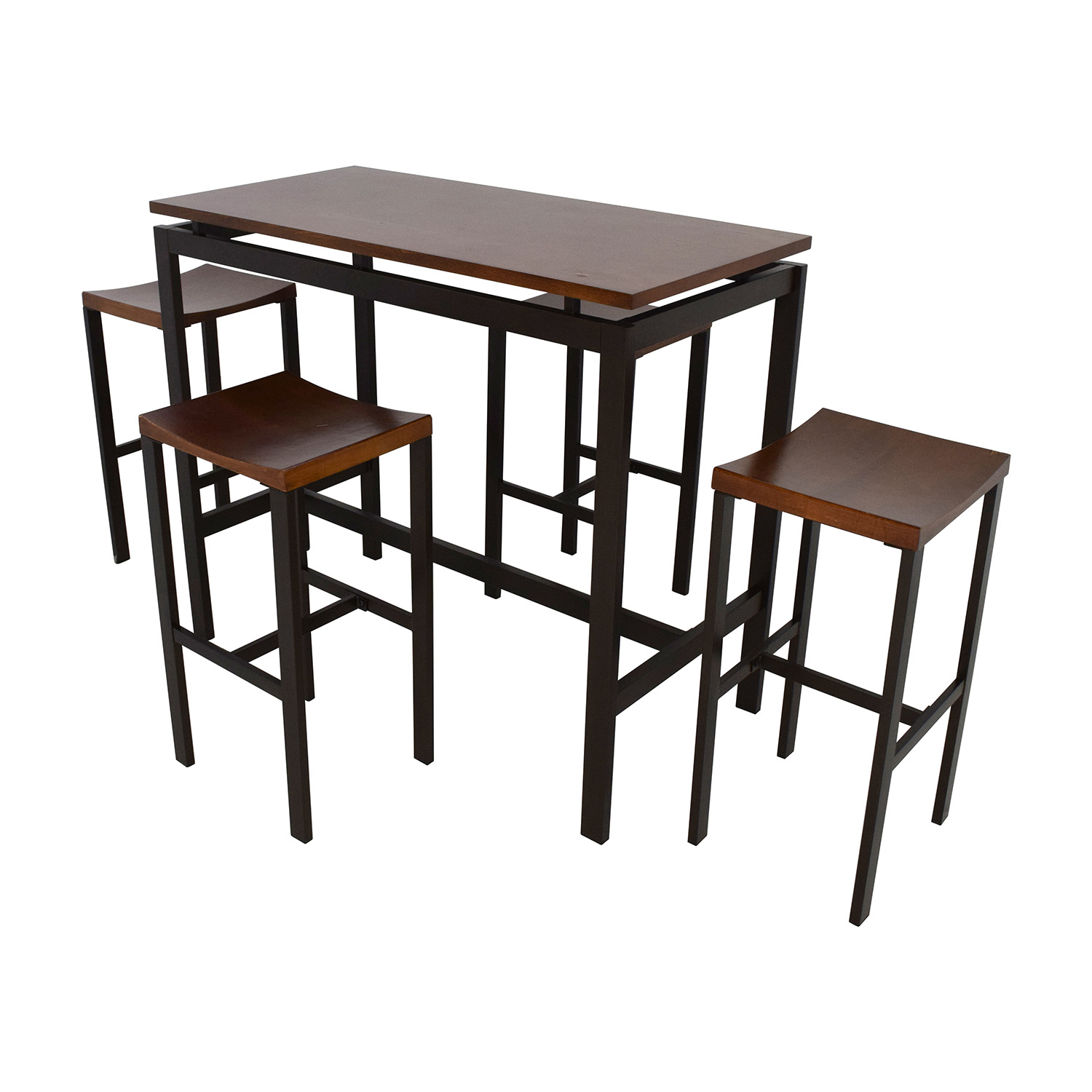 Coaster Fine Furniture Coaster Fine Furniture Atlus Counter Height Table dimensions