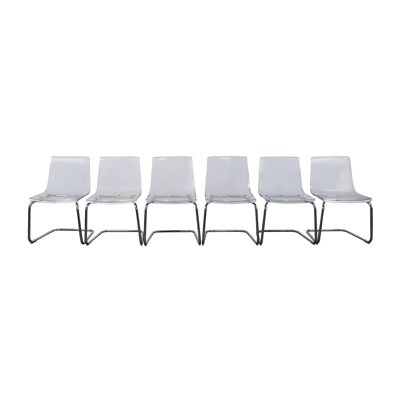 IKEA IKEA Tobias Ghost Chair Nyc