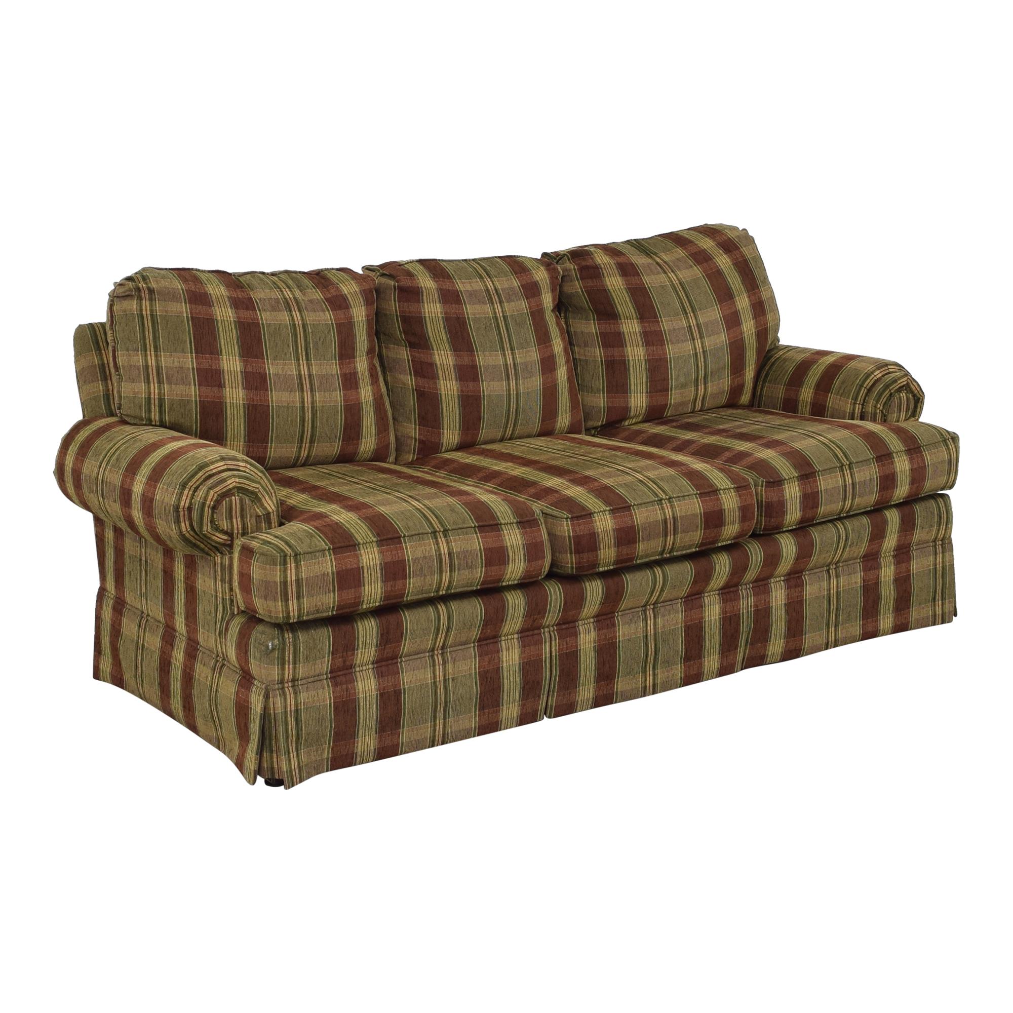 buy Thomasville Thomasville Plaid Skirted Sofa online