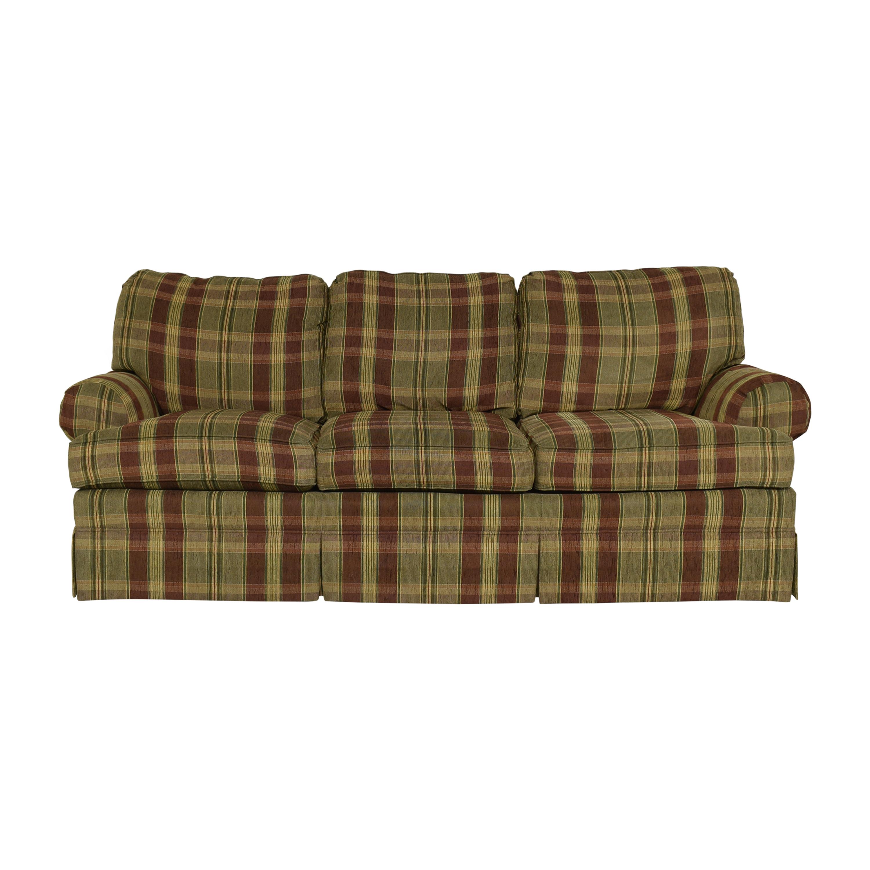 Thomasville Thomasville Skirted Roll Arm Sofa pa