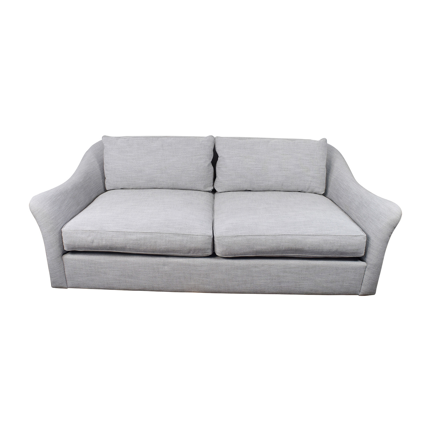 shop West Elm Delaney Grey Sofa West Elm Delaney Sofa