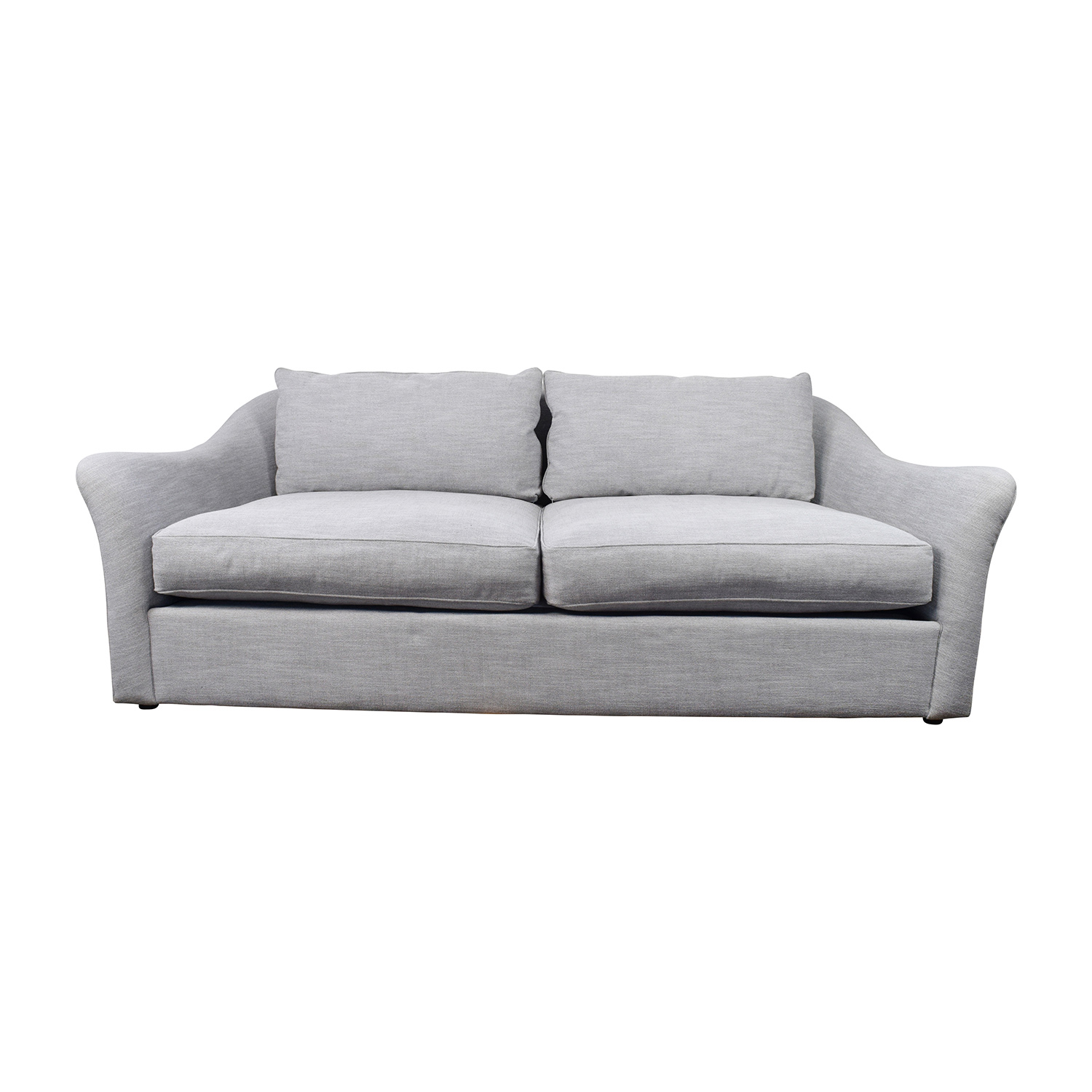 30 off west elm delaney sofa west elm delaney grey sofa for Best west elm sofa