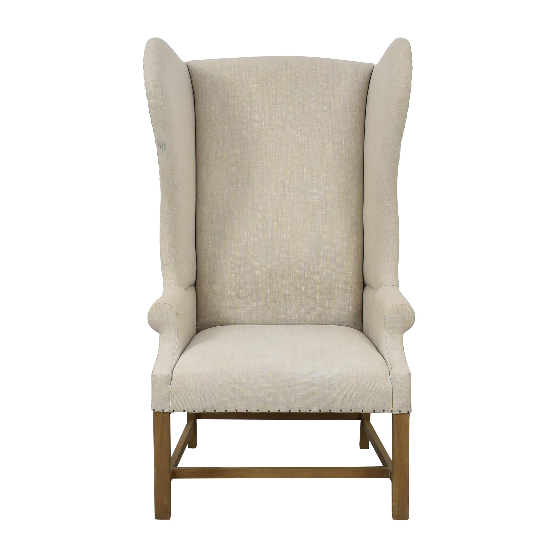 shop Restoration Hardware French Wingback Chair Restoration Hardware Chairs
