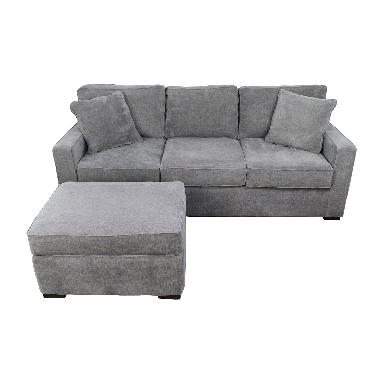 ... Macys Macys Radley Grey Sofa And Ottoman Sofas ...