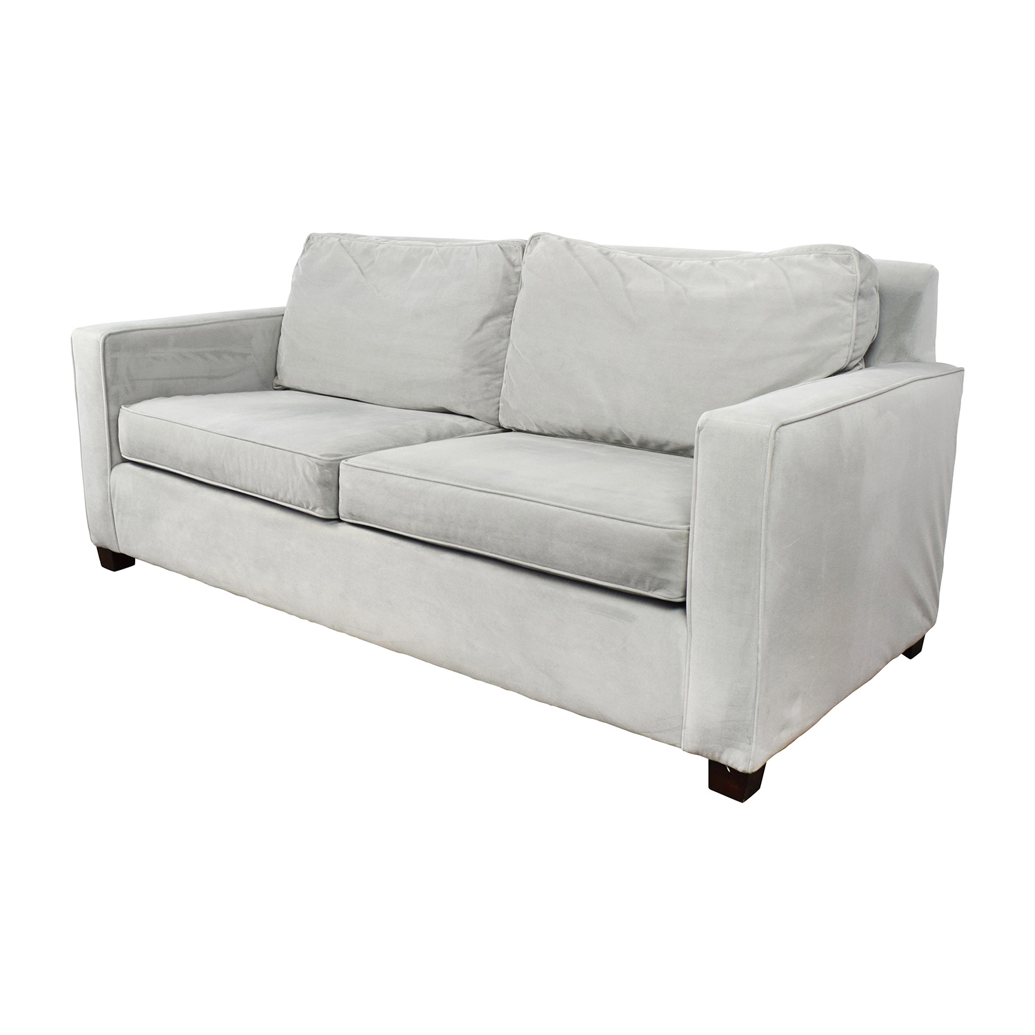 43% OFF West Elm West Elm Henry Grey Sofa Sofas