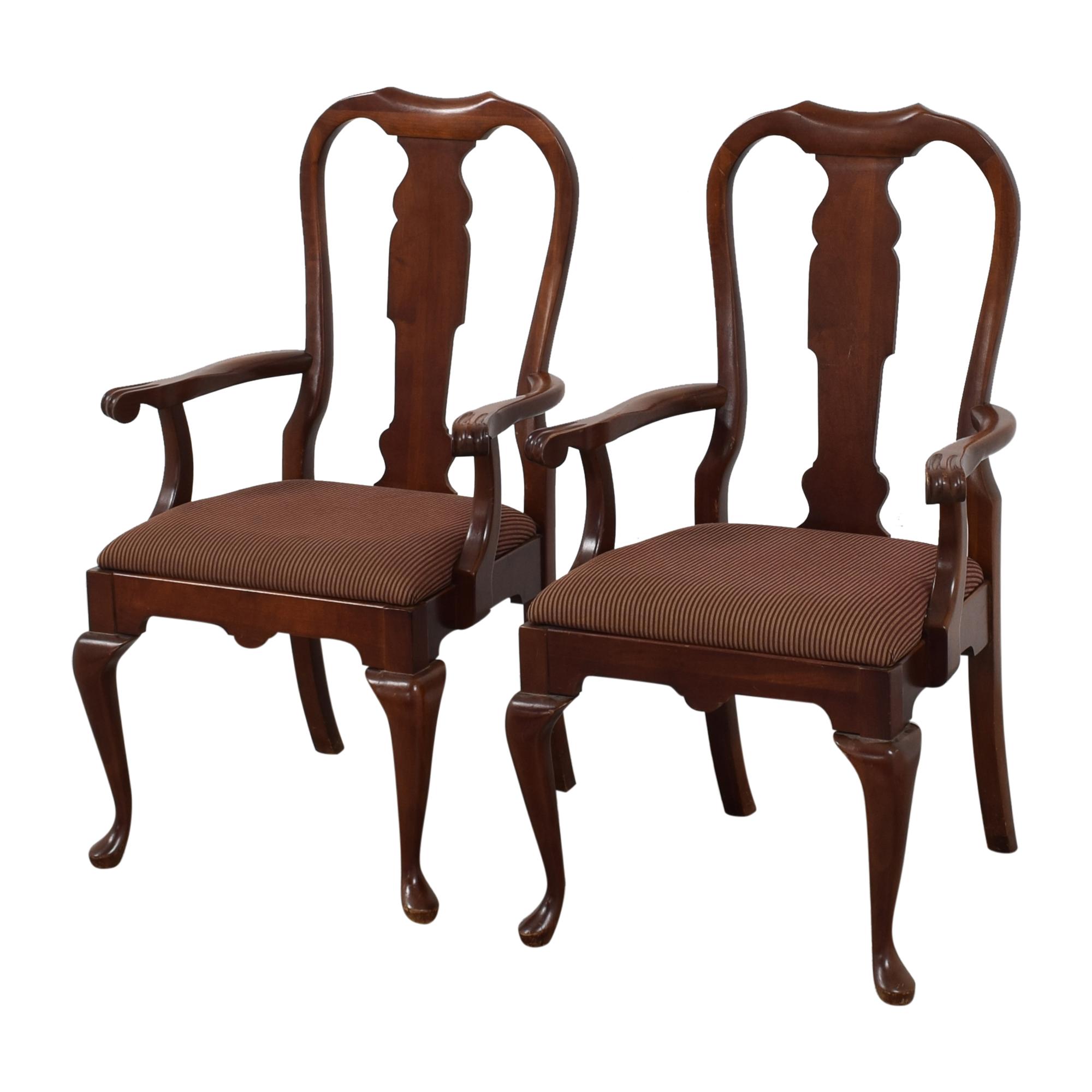 Pennsylvania House Pennsylvania House Queen Anne Dining Arm Chairs dimensions