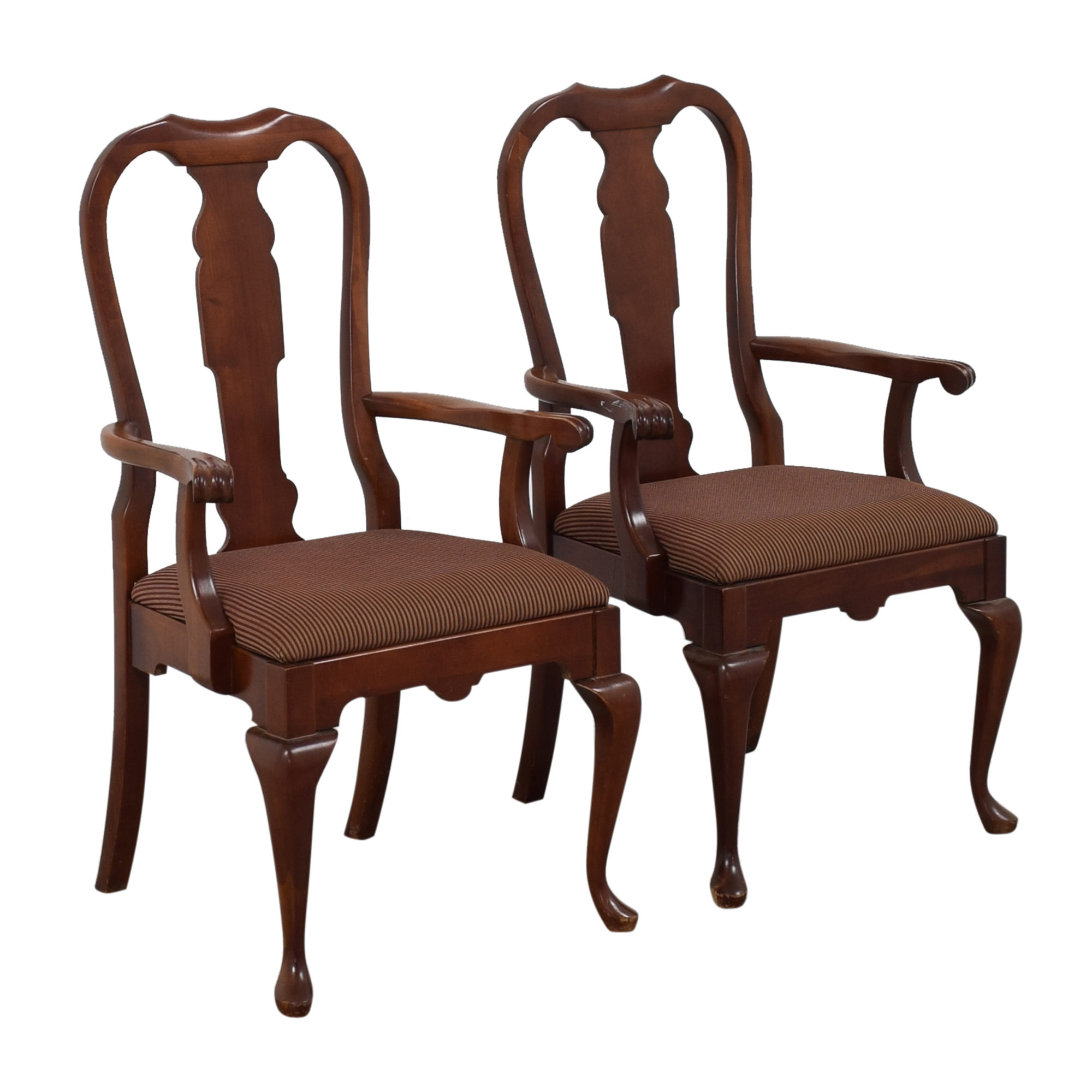 Pennsylvania House Queen Anne Dining Arm Chairs / Dining Chairs