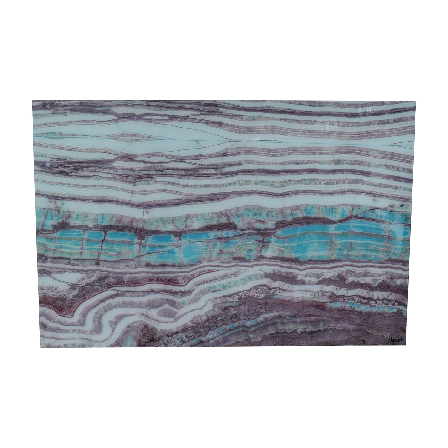 Marmont Hill Marmont Hill Abstract Agate Artwork dimensions